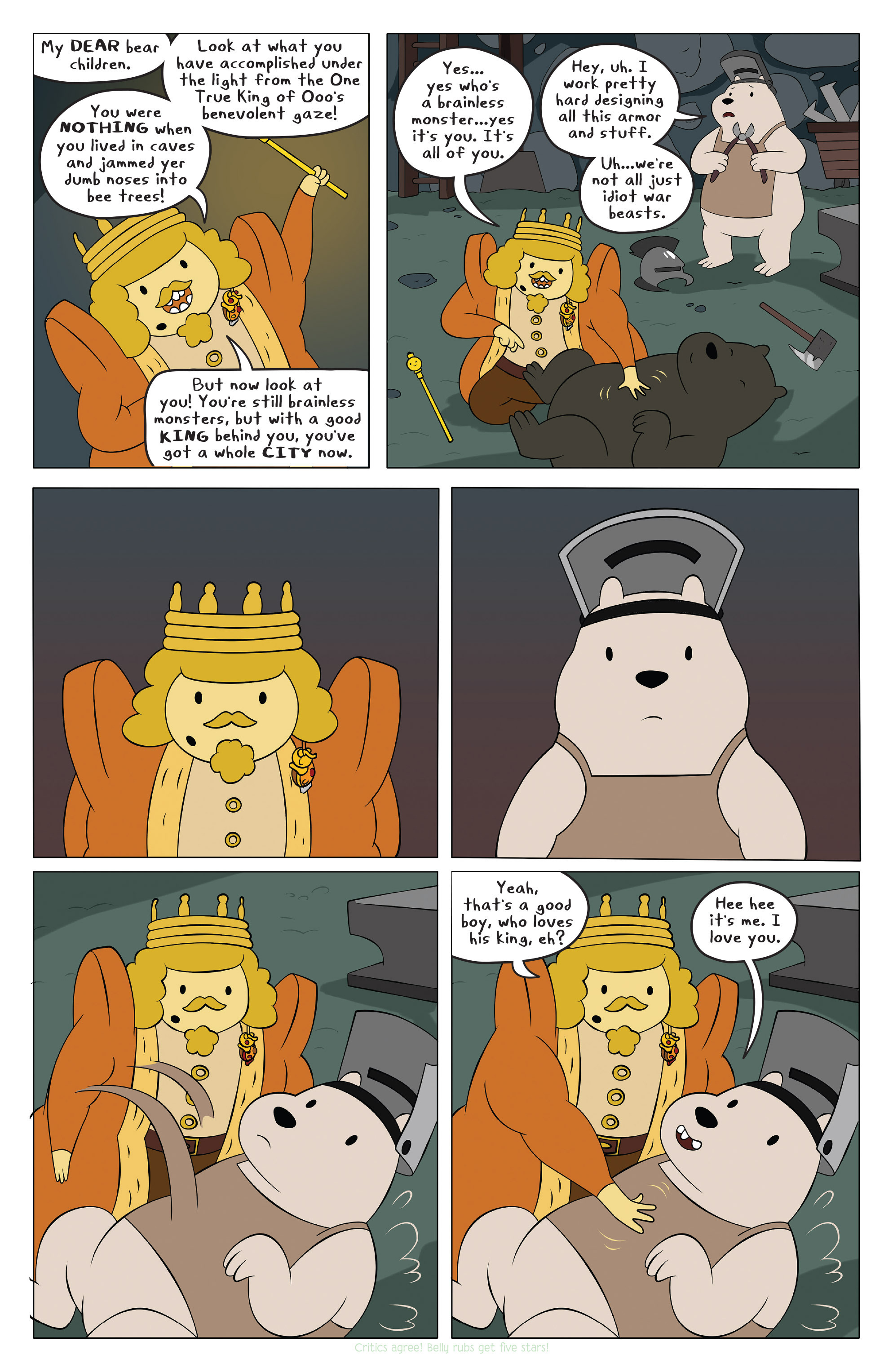 Read online Adventure Time comic -  Issue #42 - 12