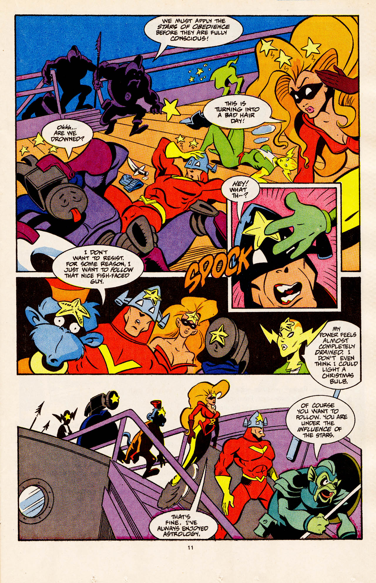Read online Defenders of Dynatron City comic -  Issue #4 - 13