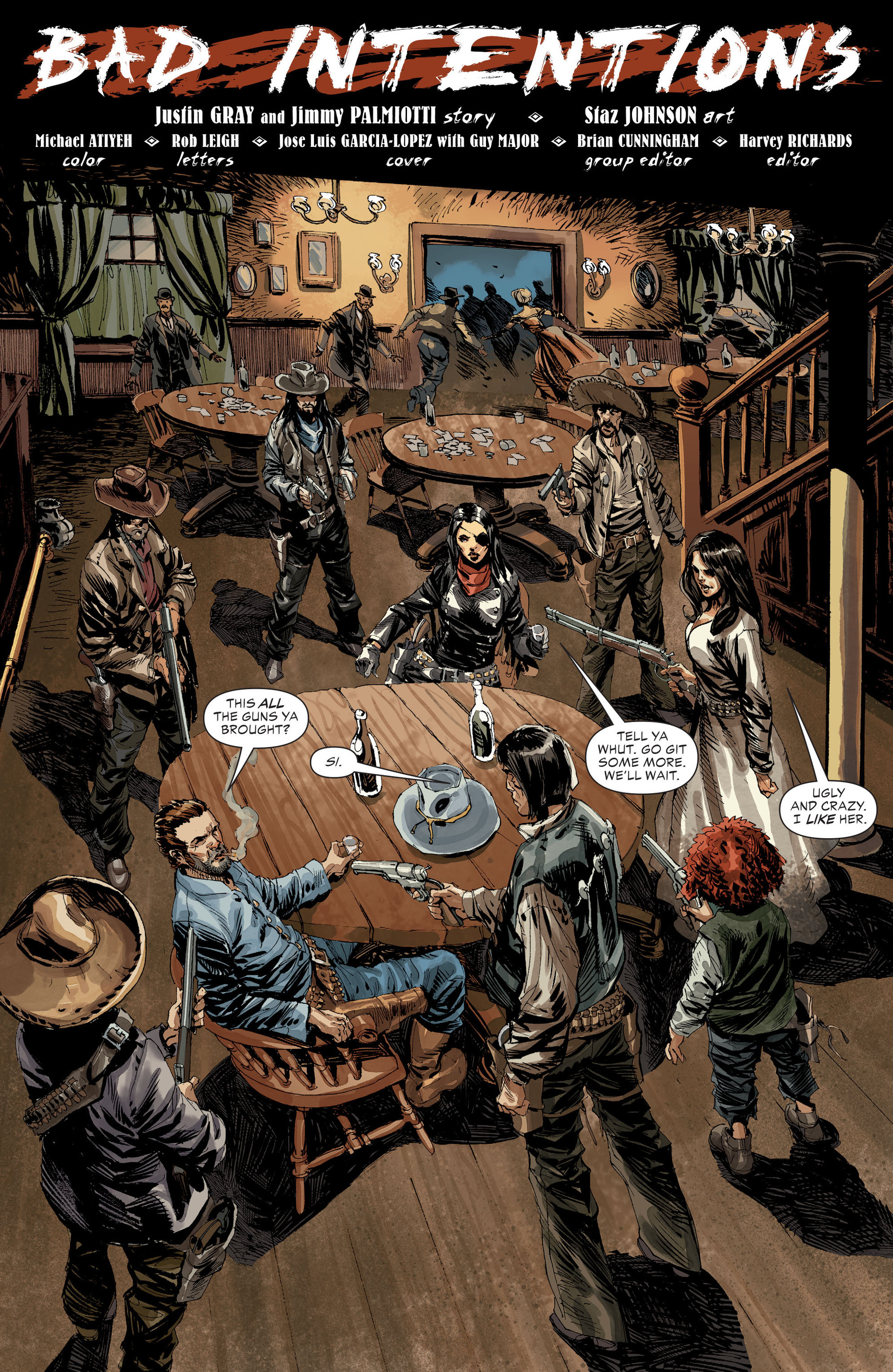 Read online All-Star Western (2011) comic -  Issue #31 - 2