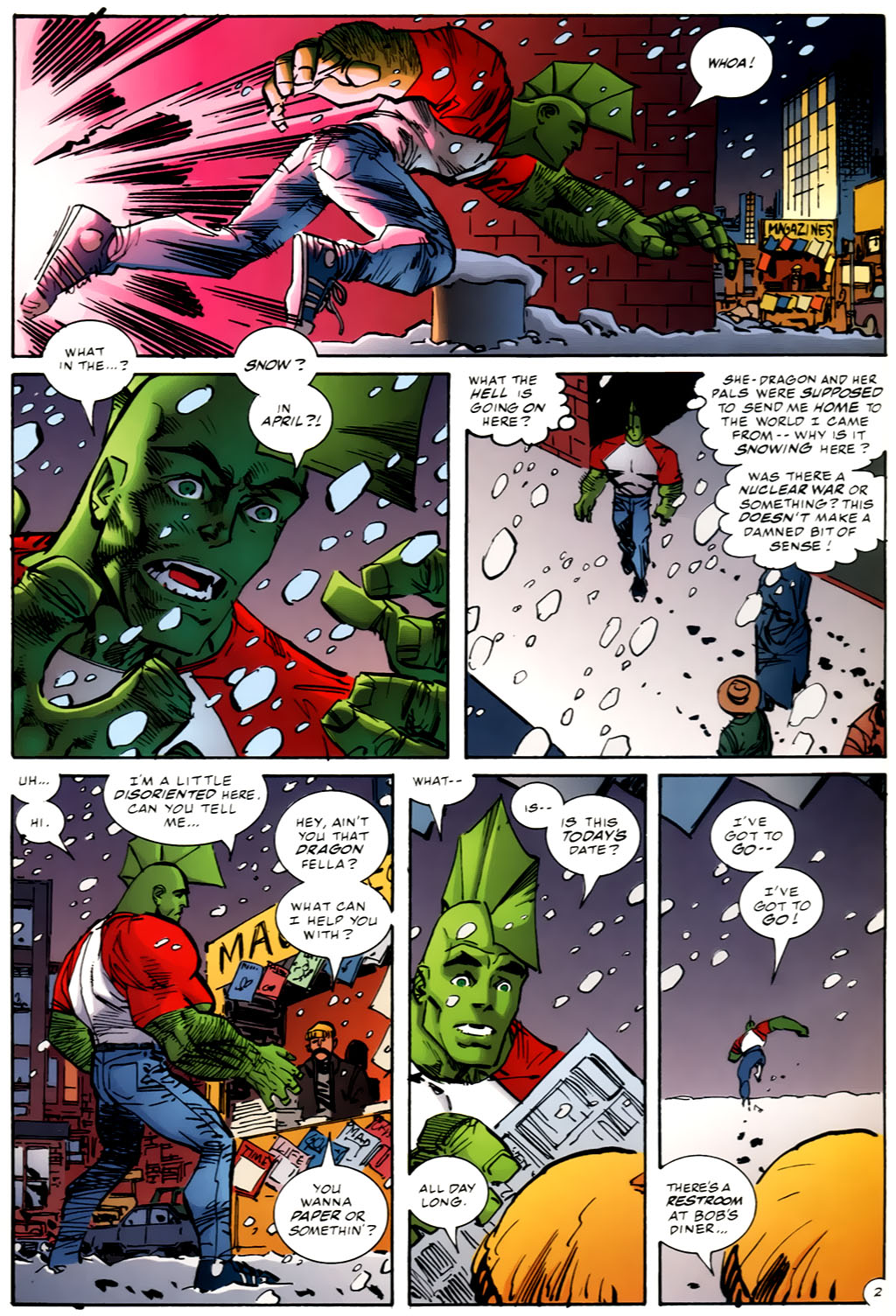 The Savage Dragon (1993) Issue #98 #101 - English 4