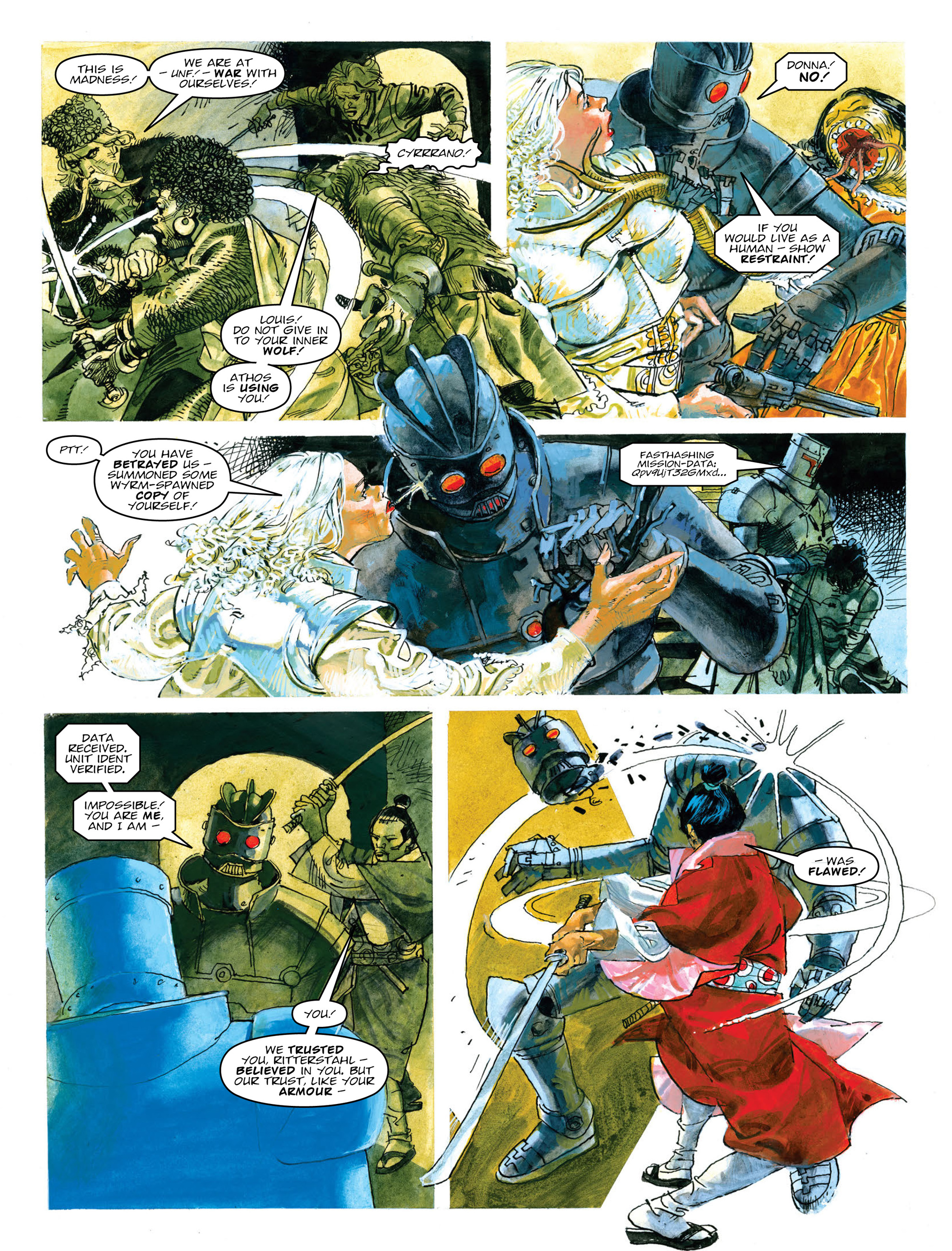 Read online 2000 AD comic -  Issue #2014 - 21
