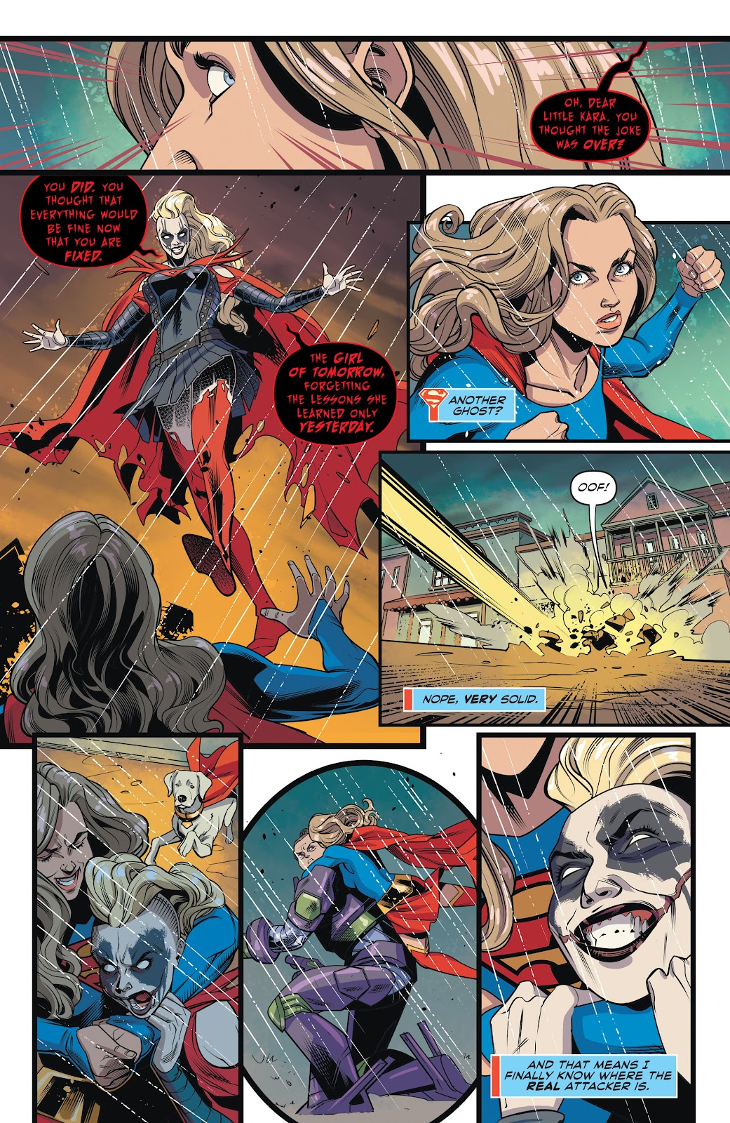Read online Supergirl (2016) comic -  Issue #42 - 14