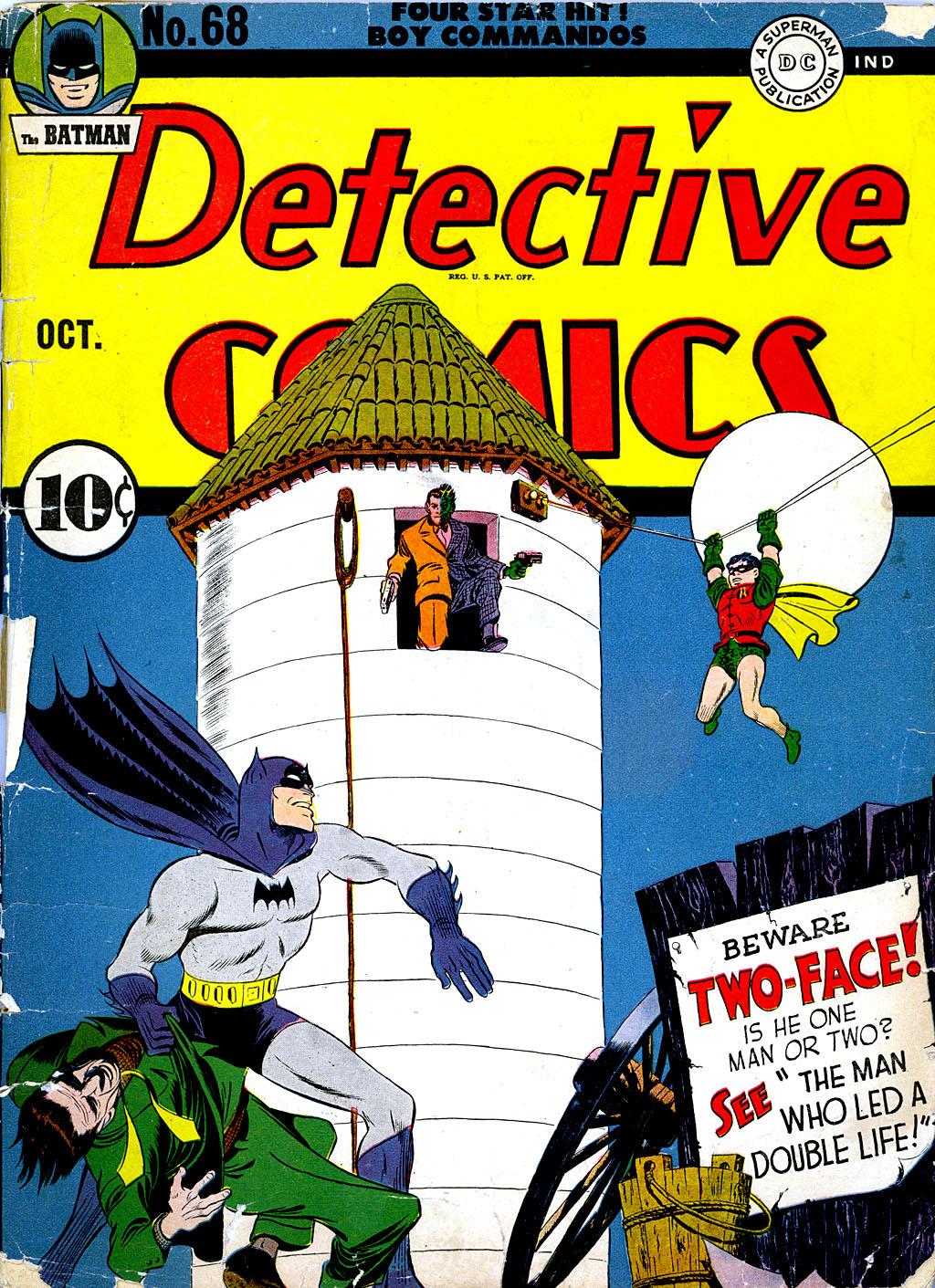 Detective Comics (1937) 68 Page 1