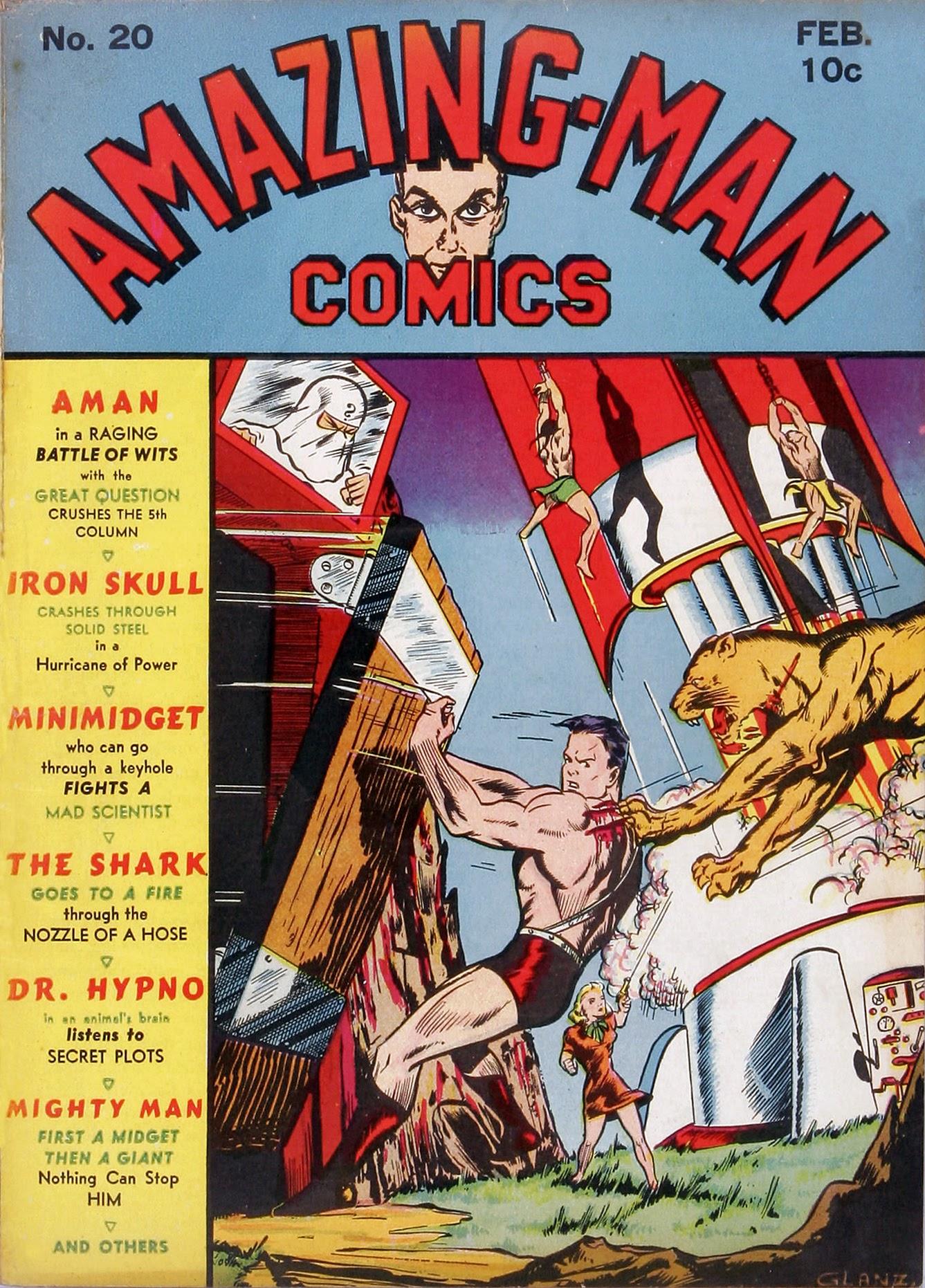 Read online Amazing Man Comics comic -  Issue #20 - 2