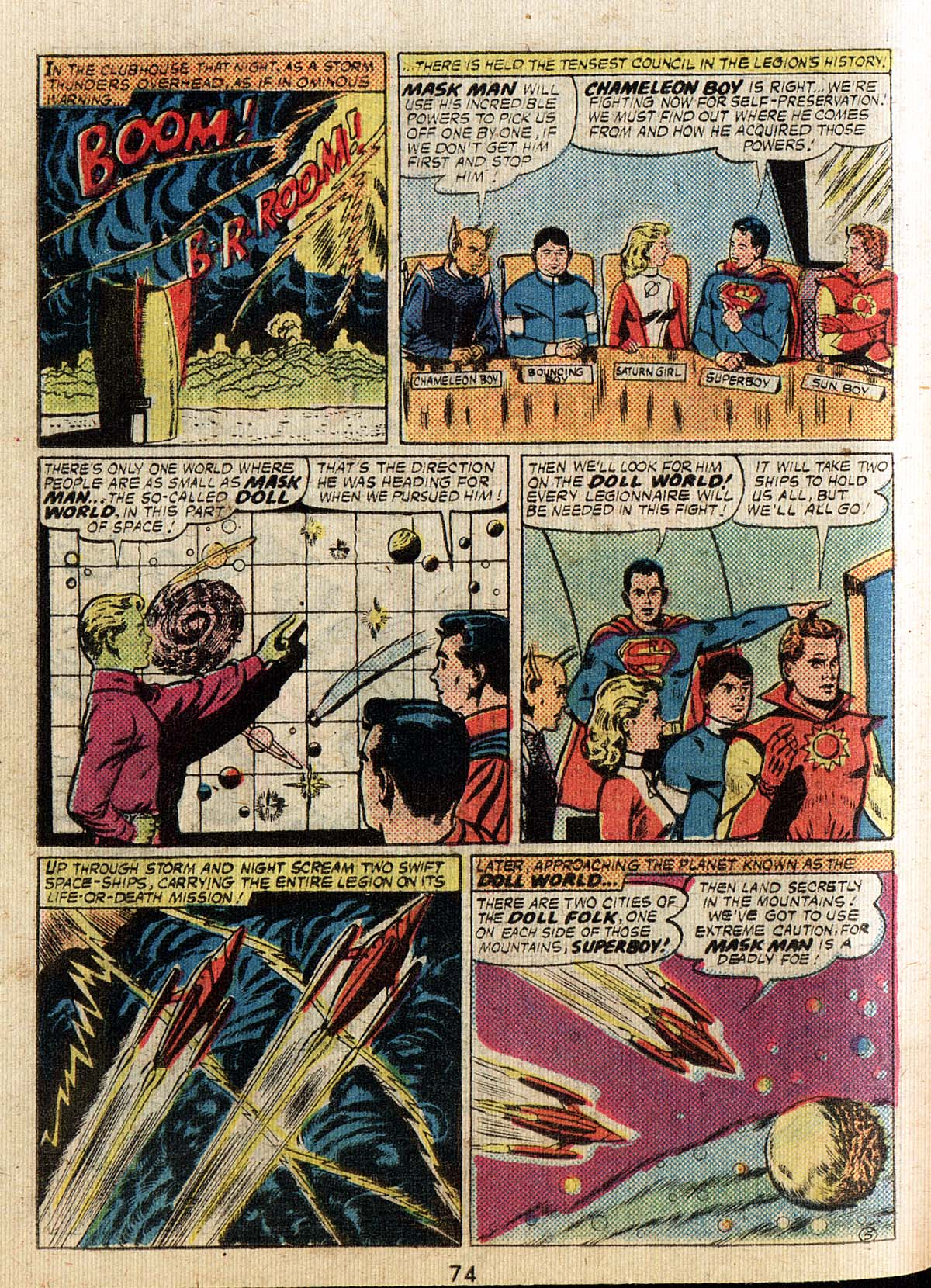 Read online Adventure Comics (1938) comic -  Issue #500 - 74