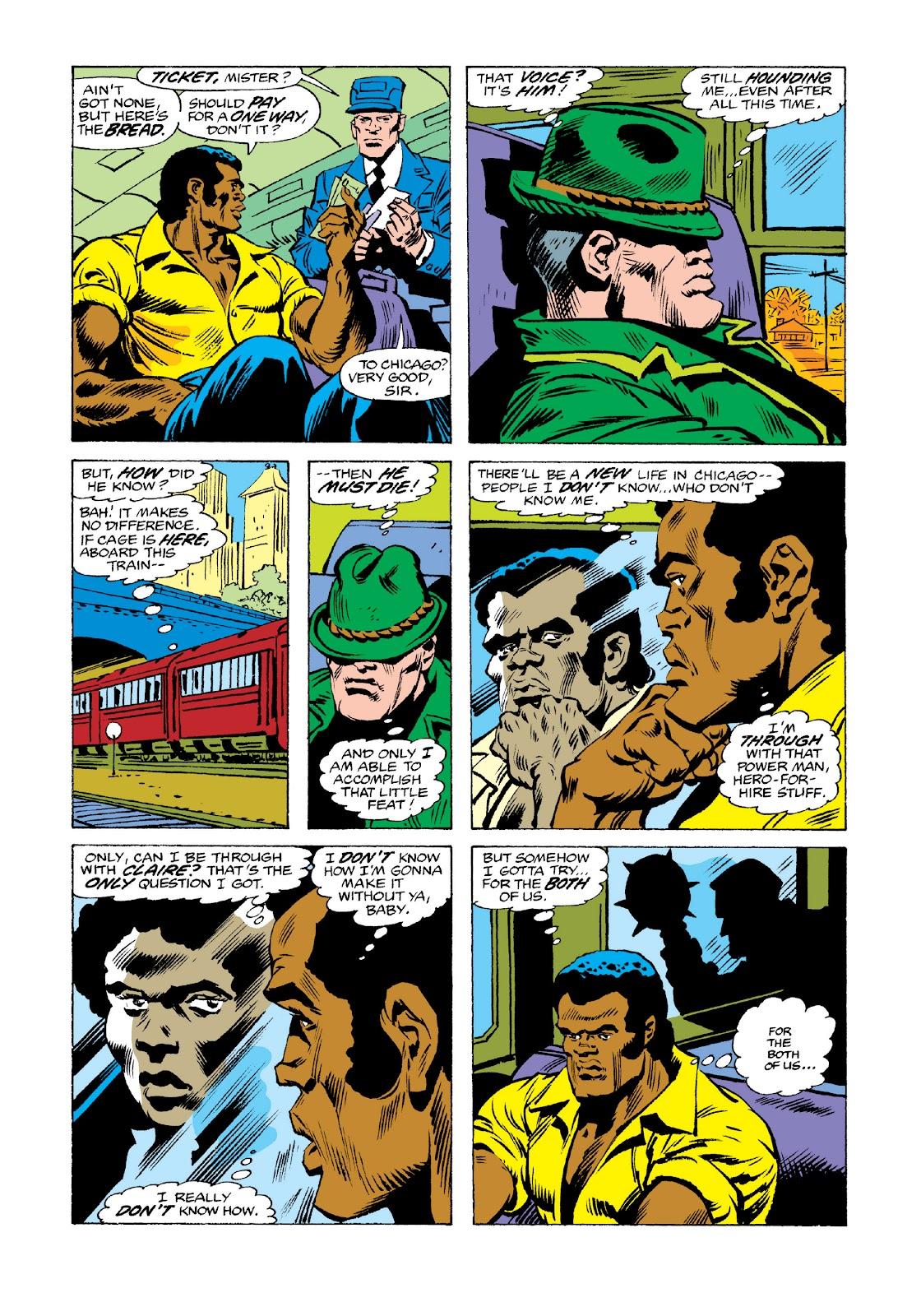 Read online Marvel Masterworks: Luke Cage, Power Man comic -  Issue # TPB 3 (Part 3) - 37