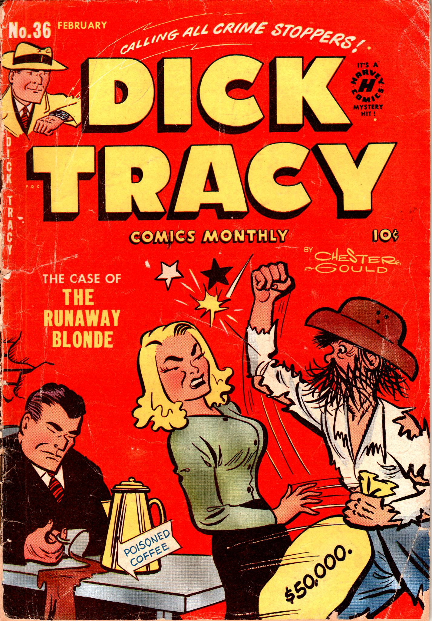 Dick Tracy (1950) 36 Page 1