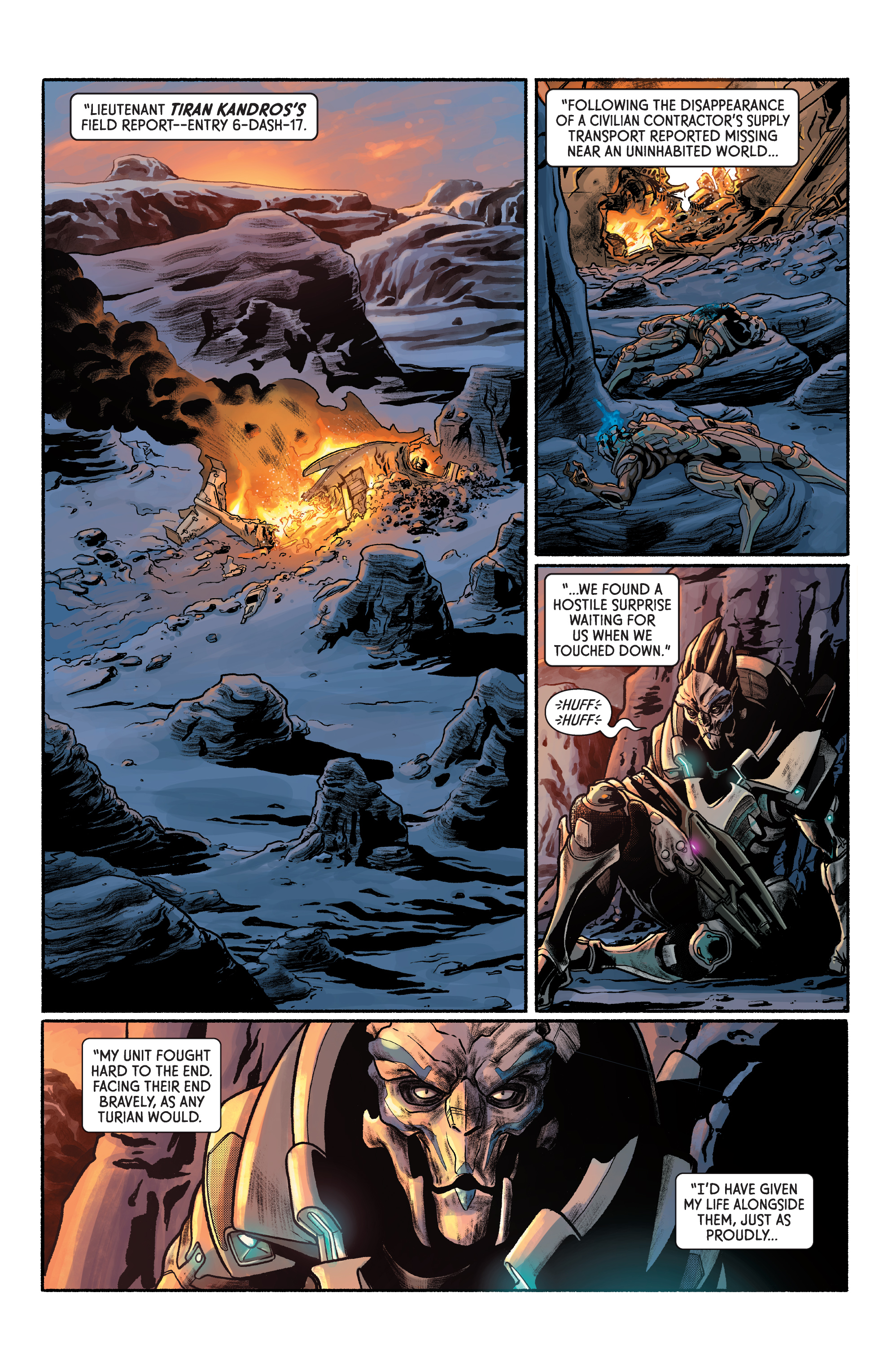 Read online Mass Effect: Discovery comic -  Issue #1 - 8