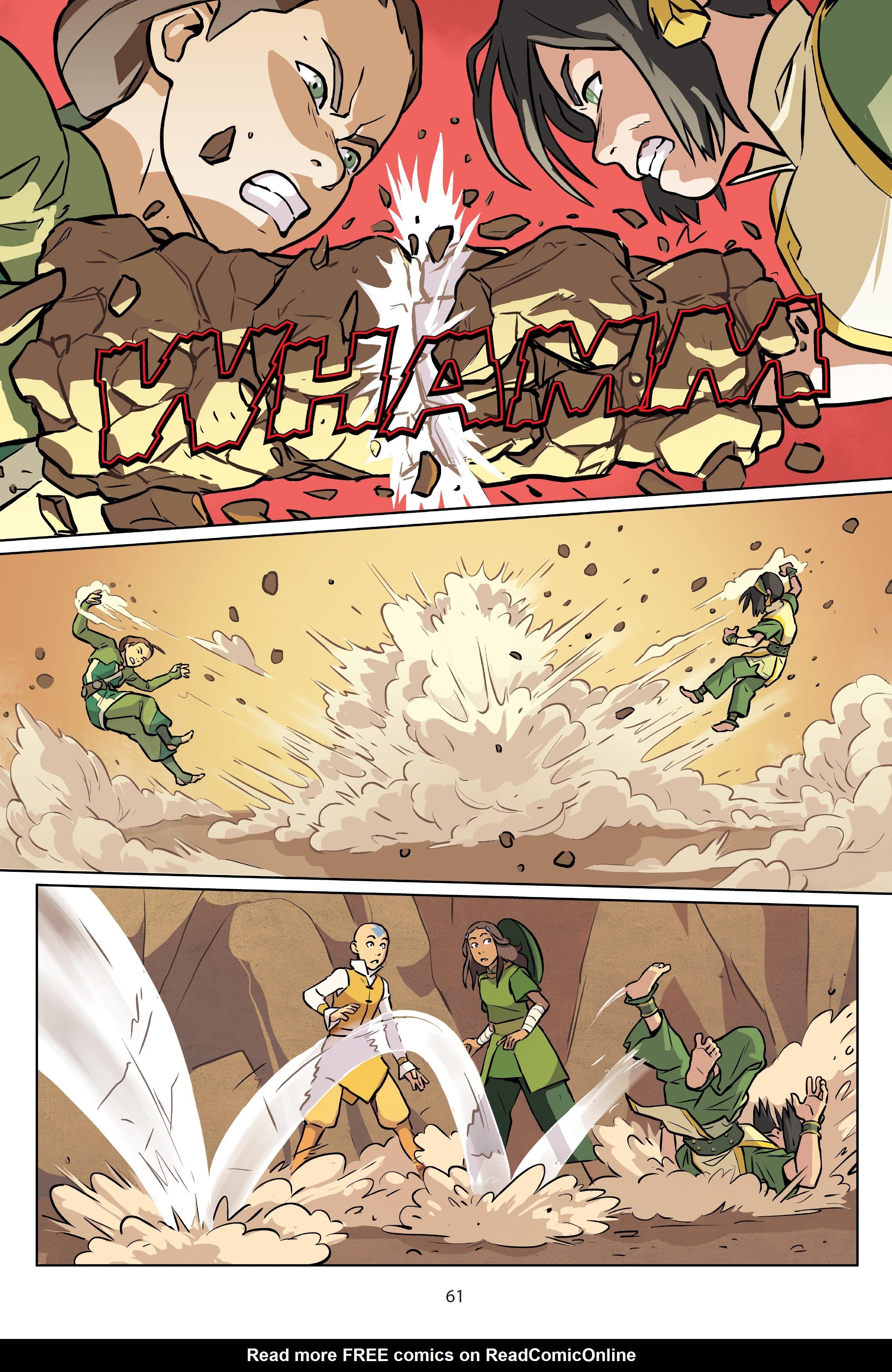 Nickelodeon Avatar: The Last Airbender - Imbalance TPB_2 Page 61