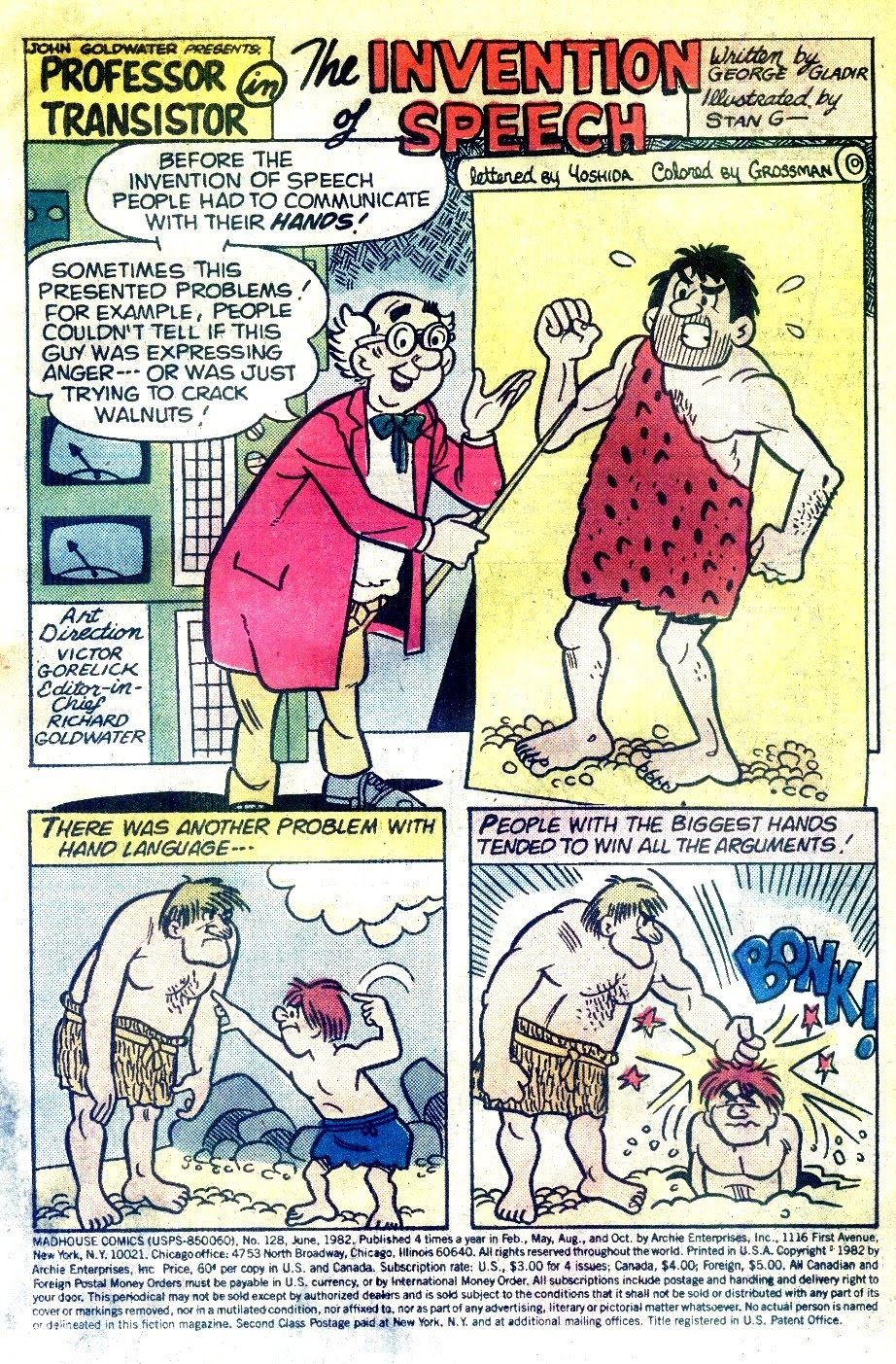 Read online Madhouse Comics comic -  Issue #128 - 3