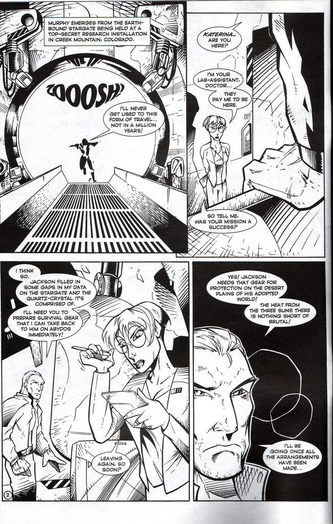Read online Stargate: One Nation Under Ra comic -  Issue # Full - 4