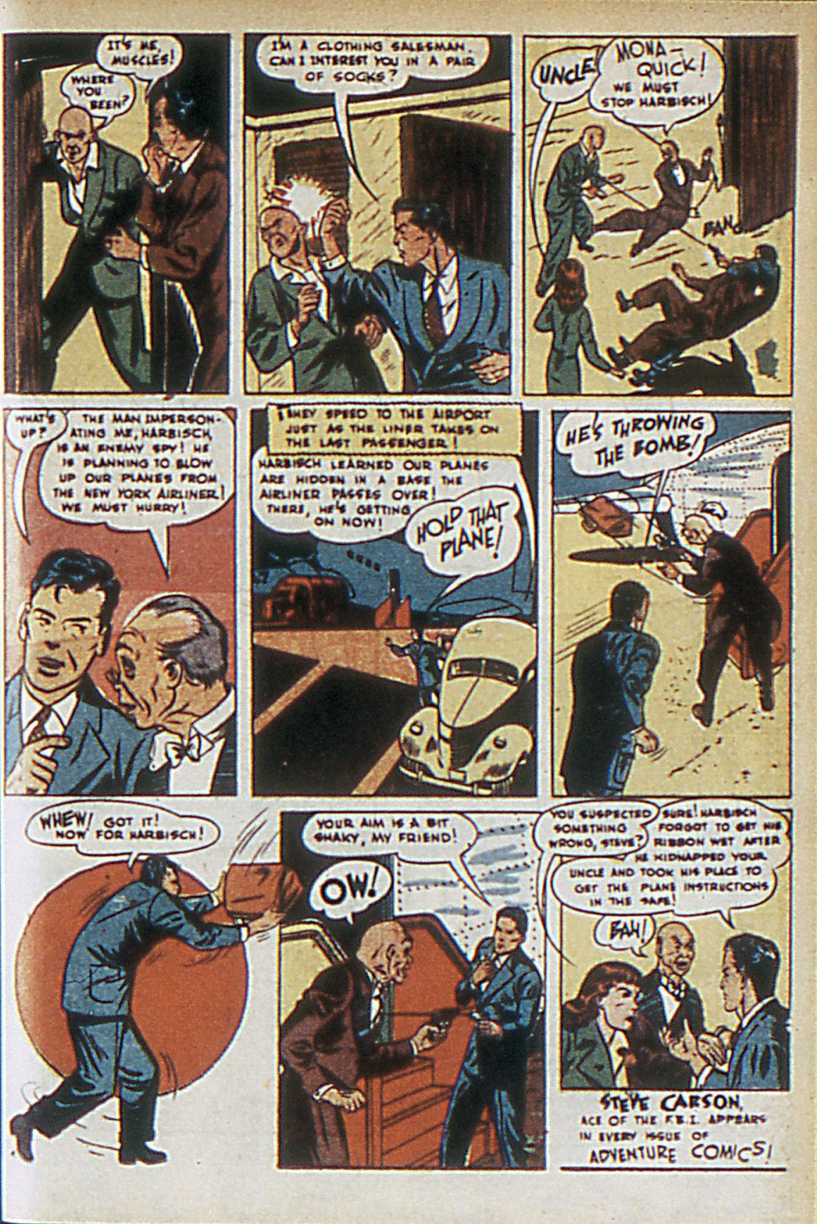 Read online Adventure Comics (1938) comic -  Issue #63 - 22