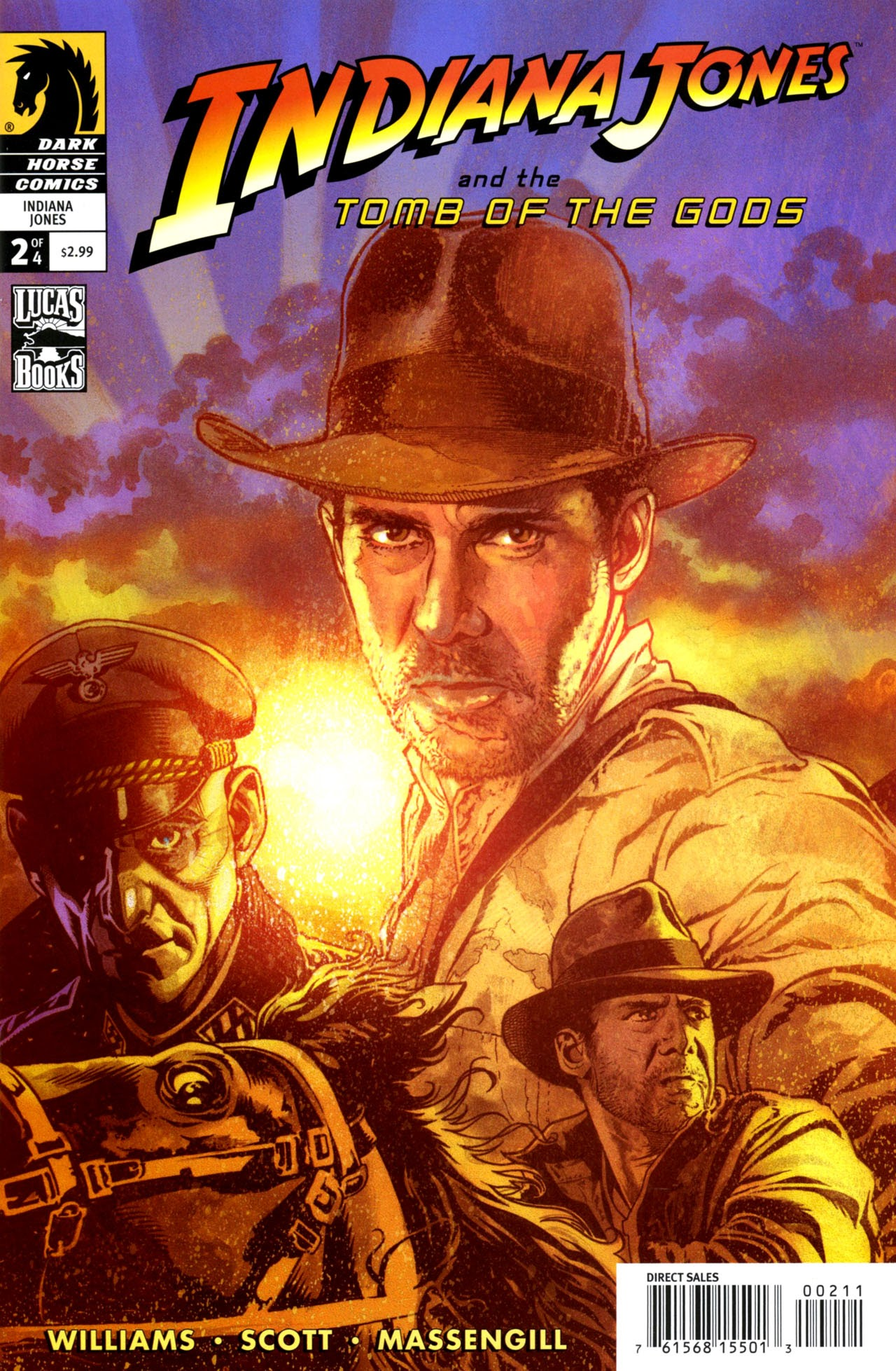 Indiana Jones and the Tomb of the Gods 2 Page 1