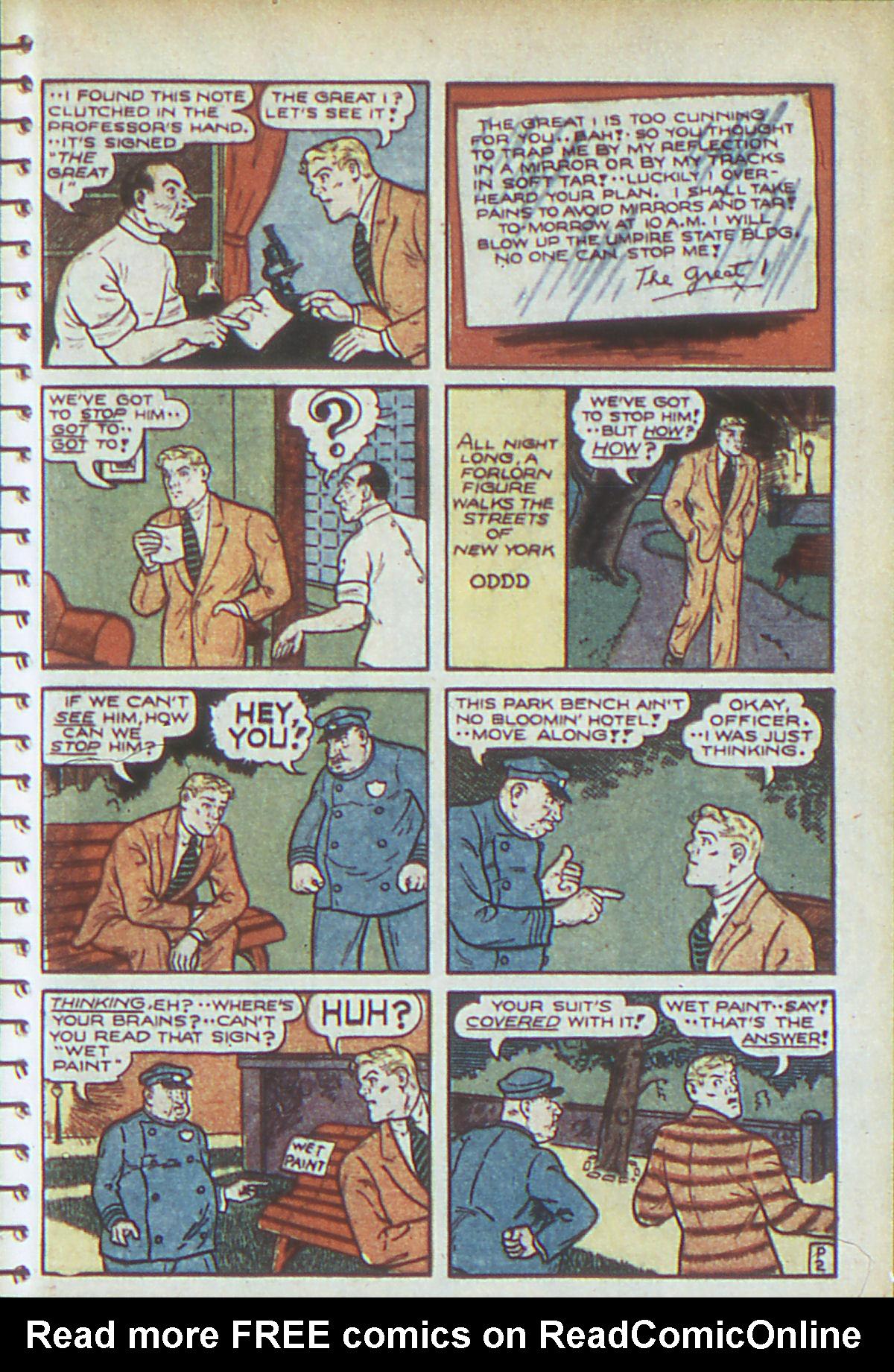 Read online Adventure Comics (1938) comic -  Issue #54 - 42