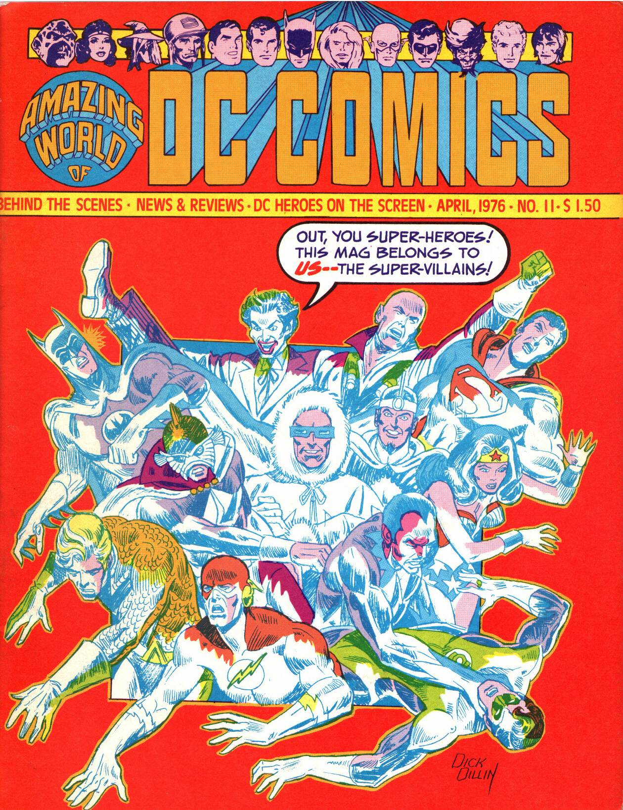 Read online Amazing World of DC Comics comic -  Issue #11 - 1
