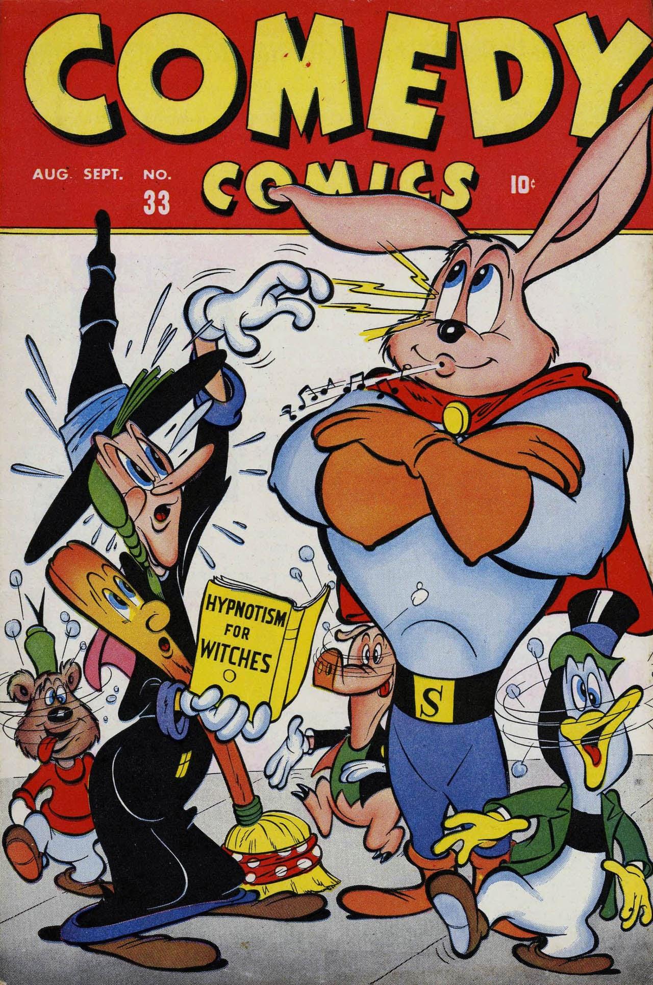 Comedy Comics (1942) 33 Page 1