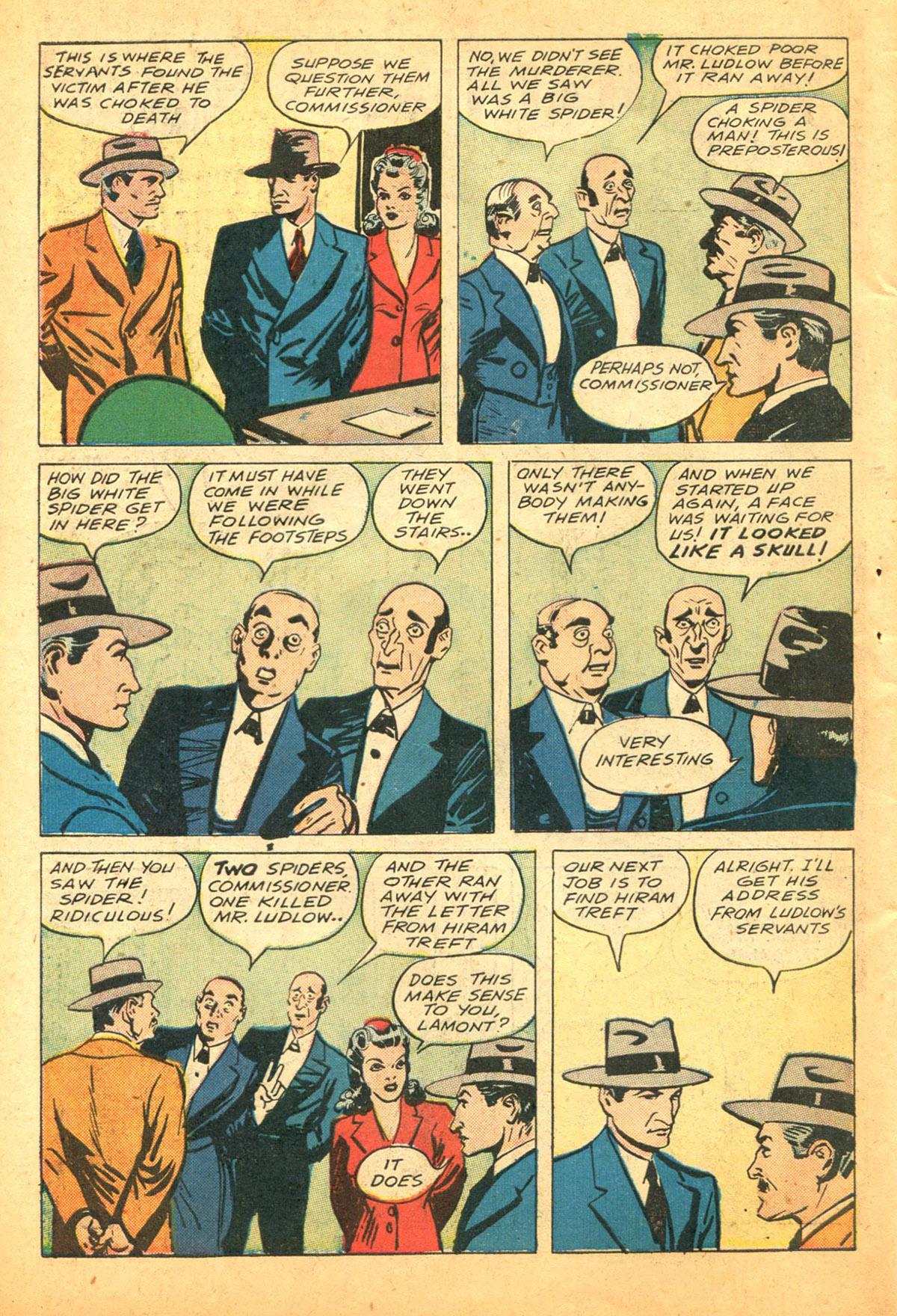 Read online Shadow Comics comic -  Issue #38 - 52