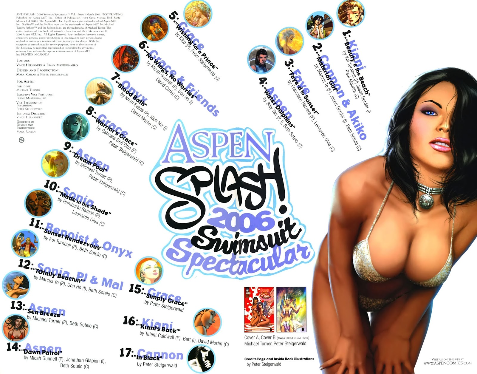 Read online Aspen Splash: Swimsuit Spectacular comic -  Issue # Issue 2006 - 2