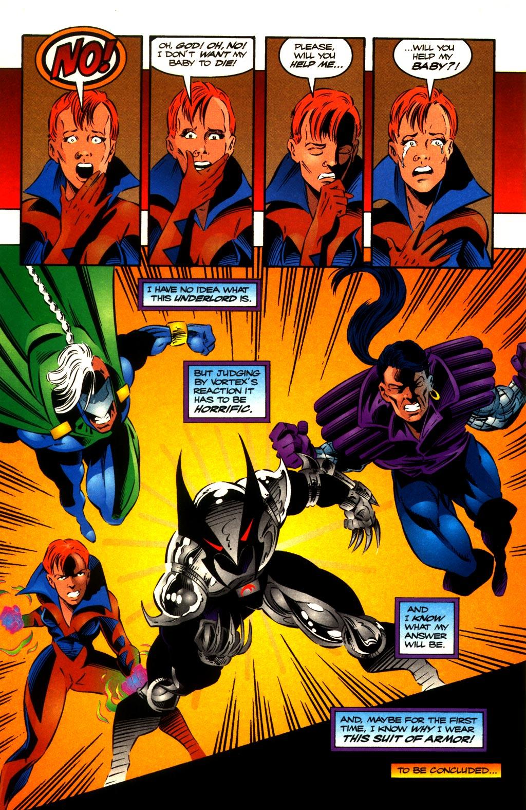 Read online ShadowHawk comic -  Issue #10 - 23