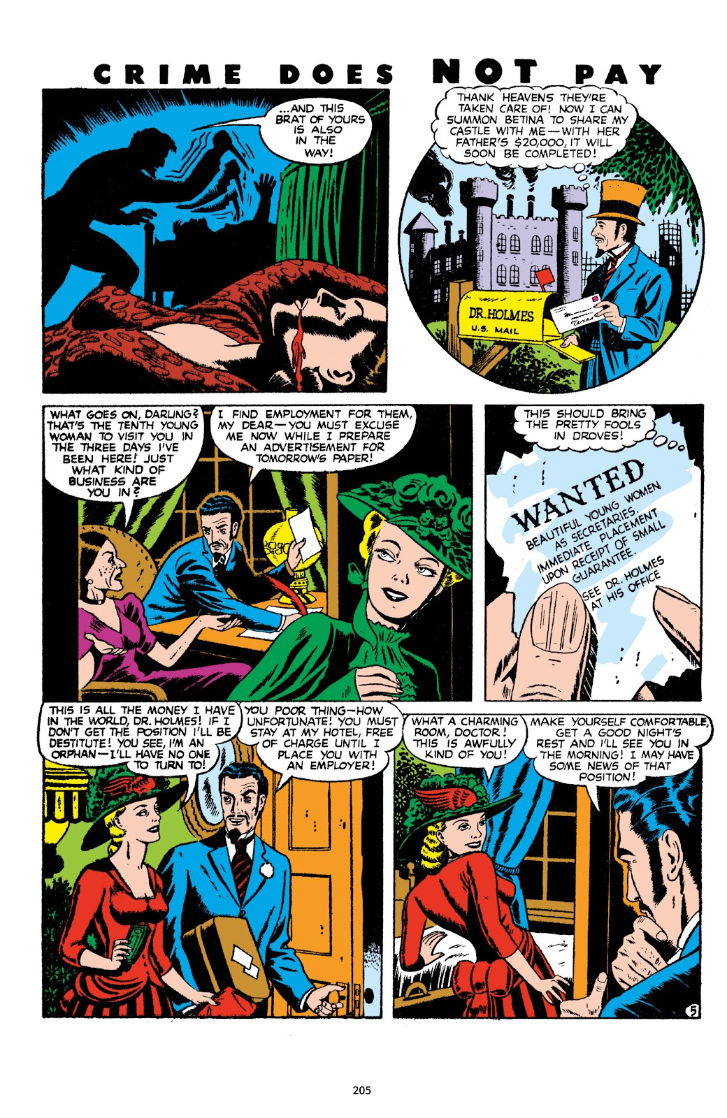 Read online Crime Does Not Pay Archives comic -  Issue # TPB 8 (Part 3) - 6