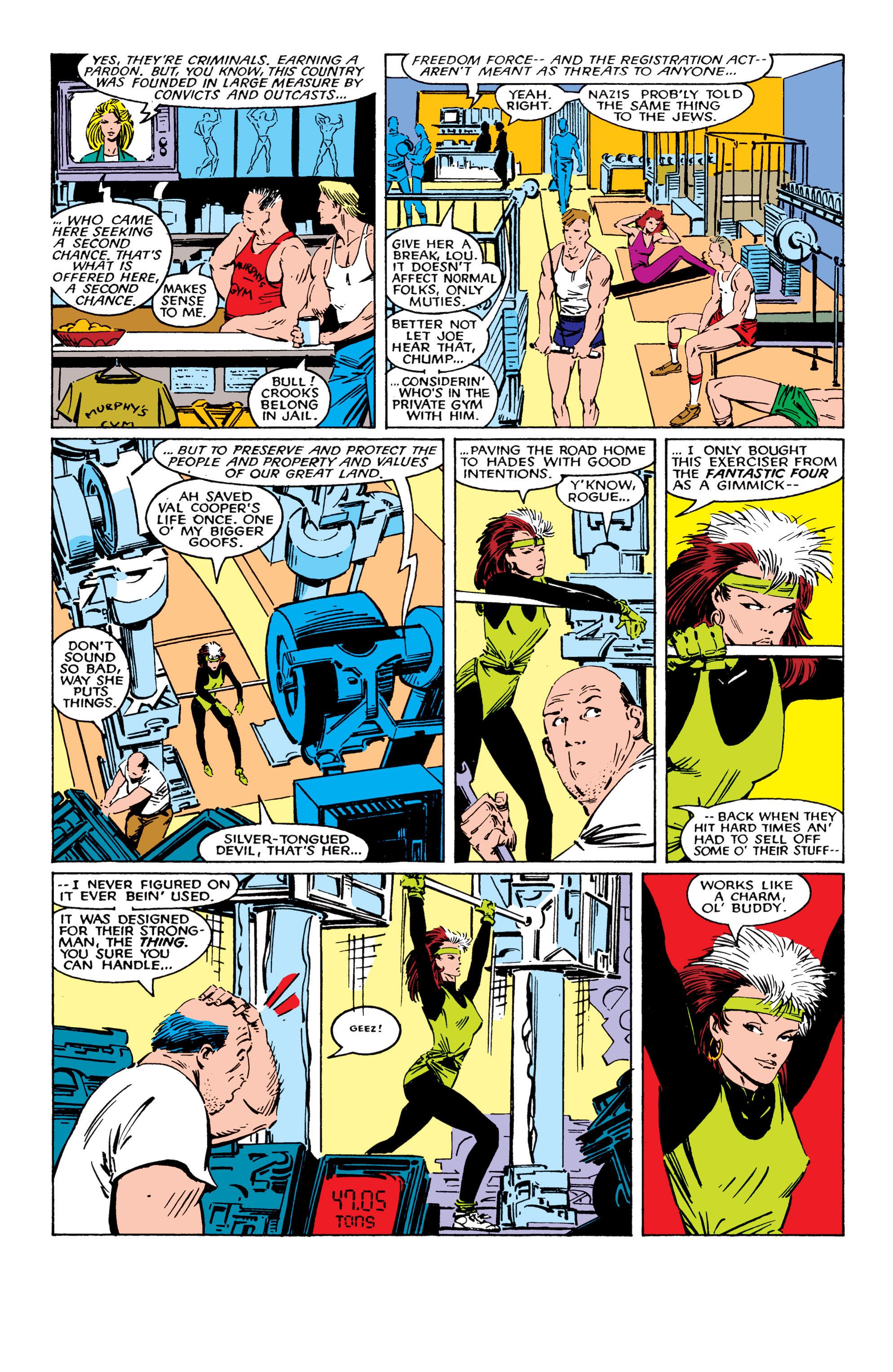 Read online Uncanny X-Men (1963) comic -  Issue #224 - 7