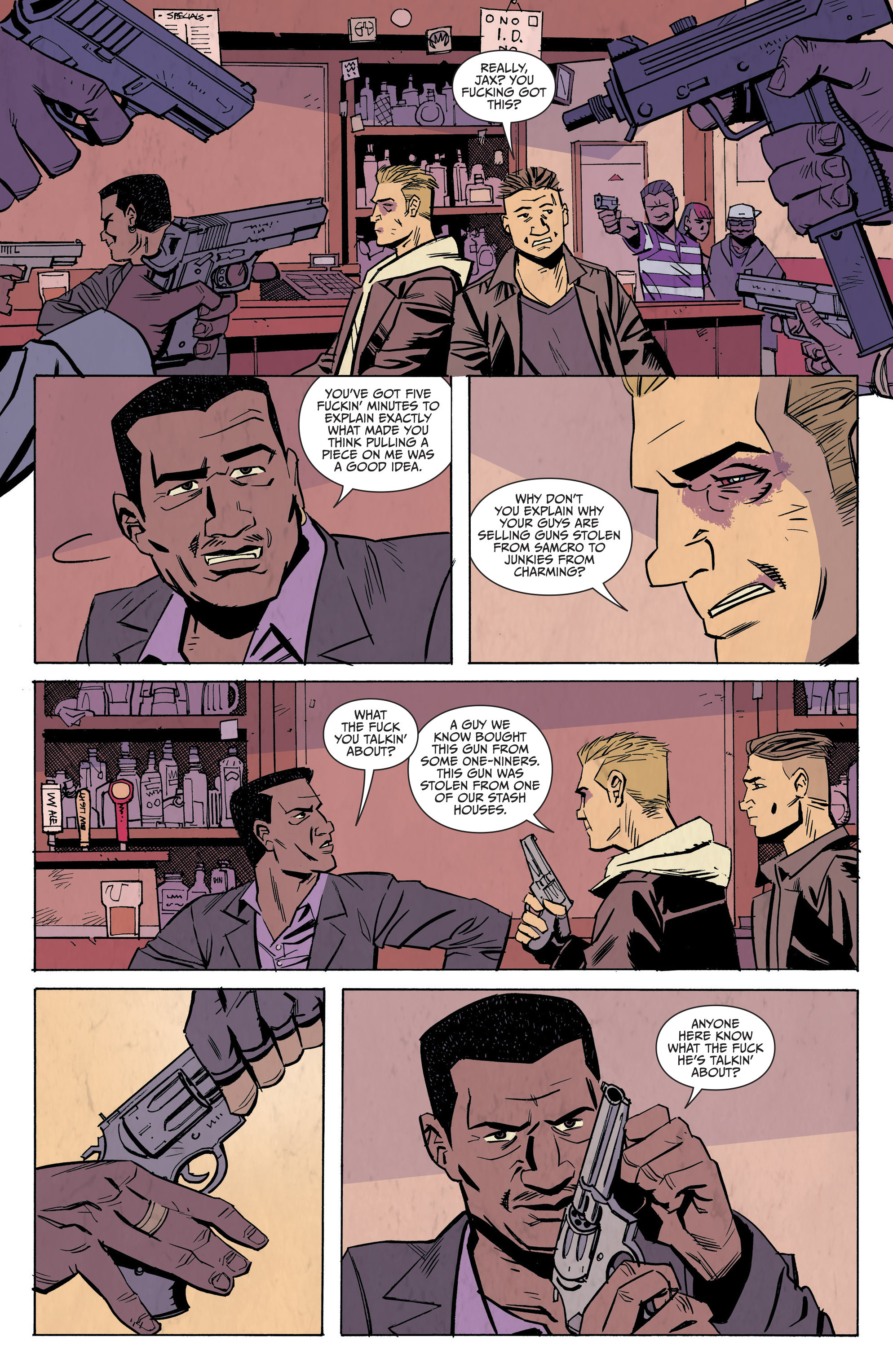 Read online Sons of Anarchy: Redwood Original comic -  Issue #7 - 10