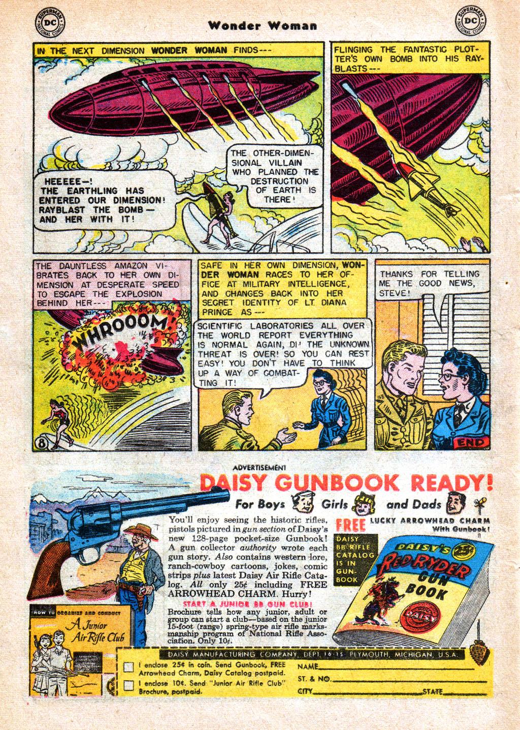 Read online Wonder Woman (1942) comic -  Issue #77 - 20