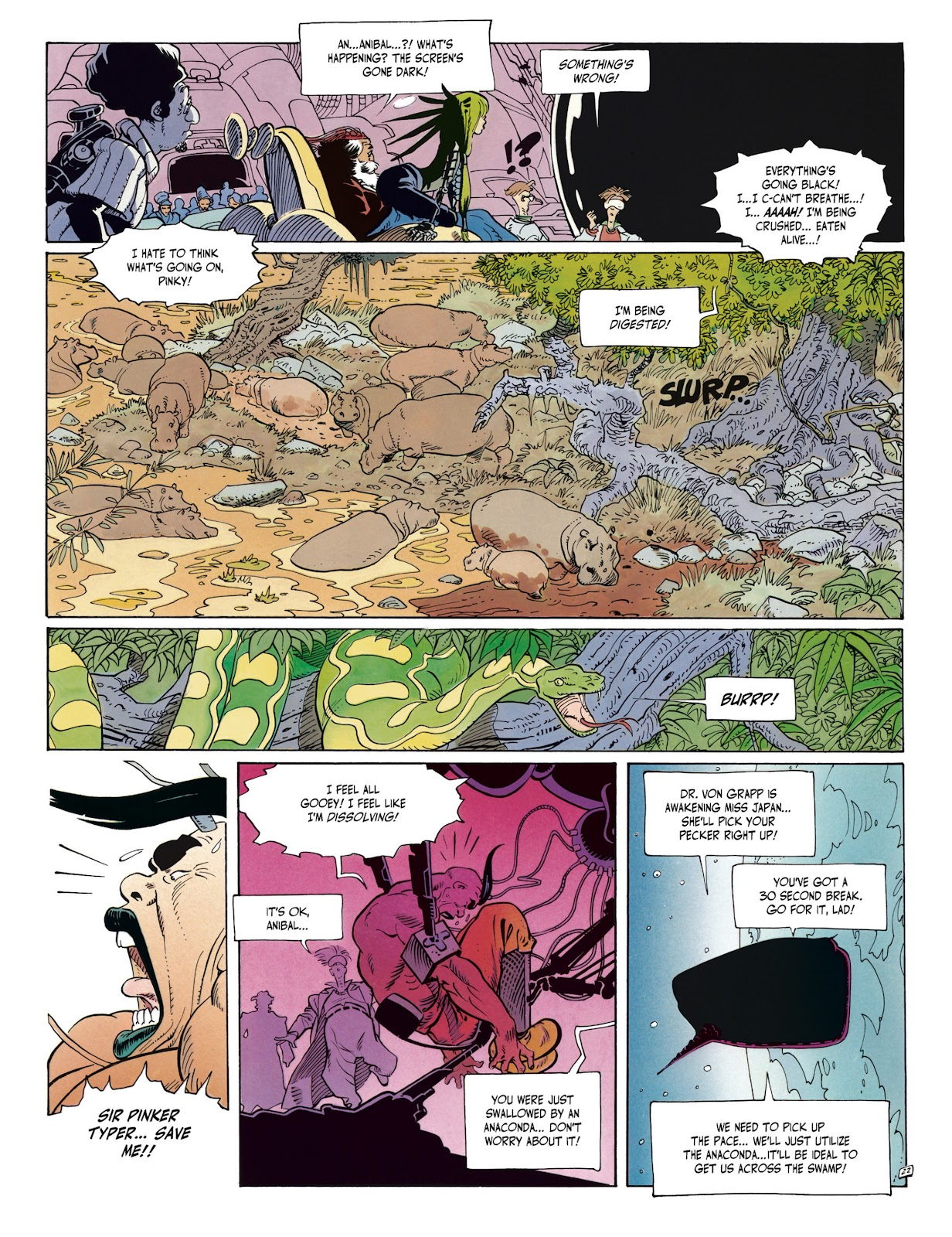 Anibal 5 Issue 2 | Viewcomic reading comics online for free 2019