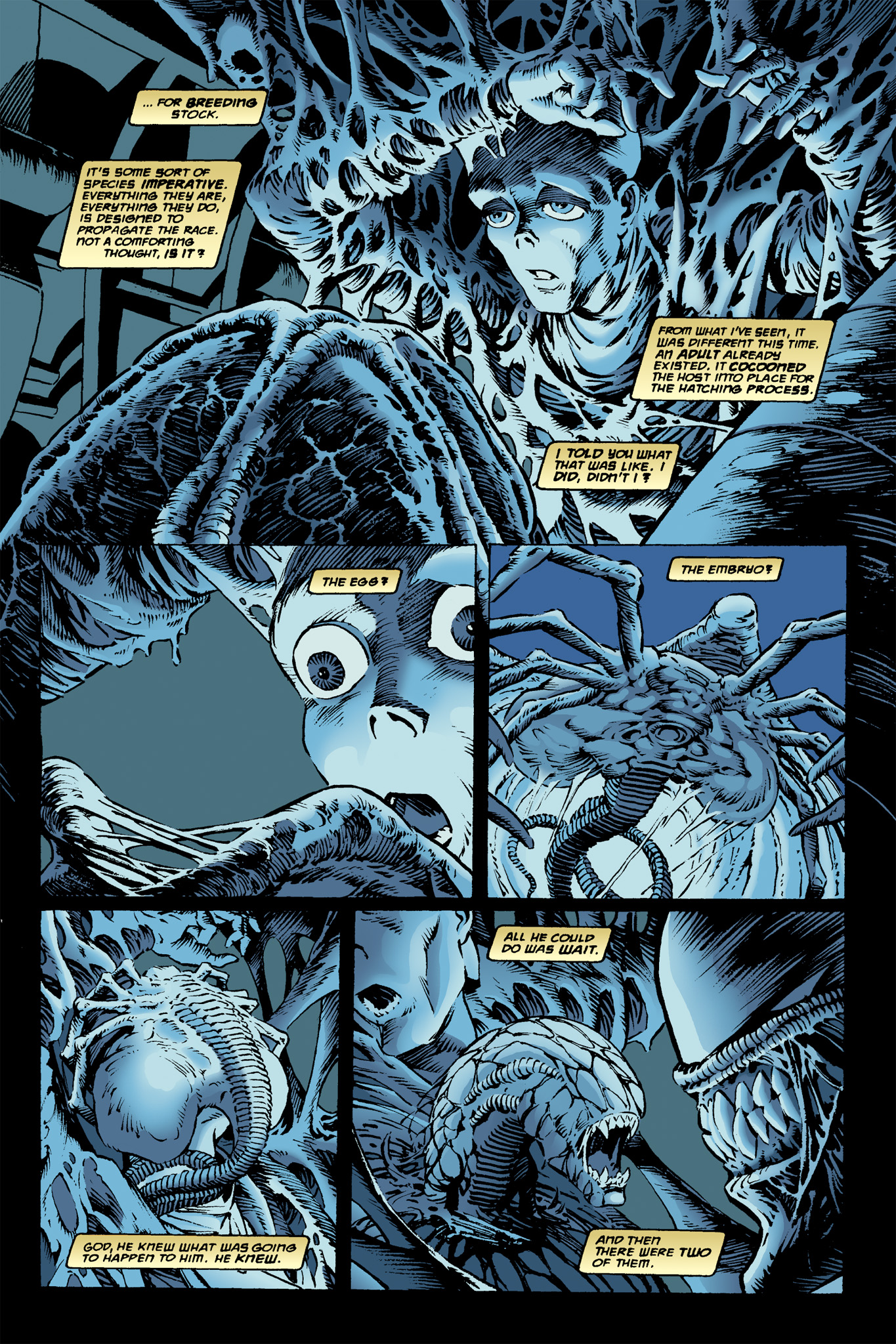 Read online Aliens: Incubation/Lucky/Taste comic -  Issue # Full - 11