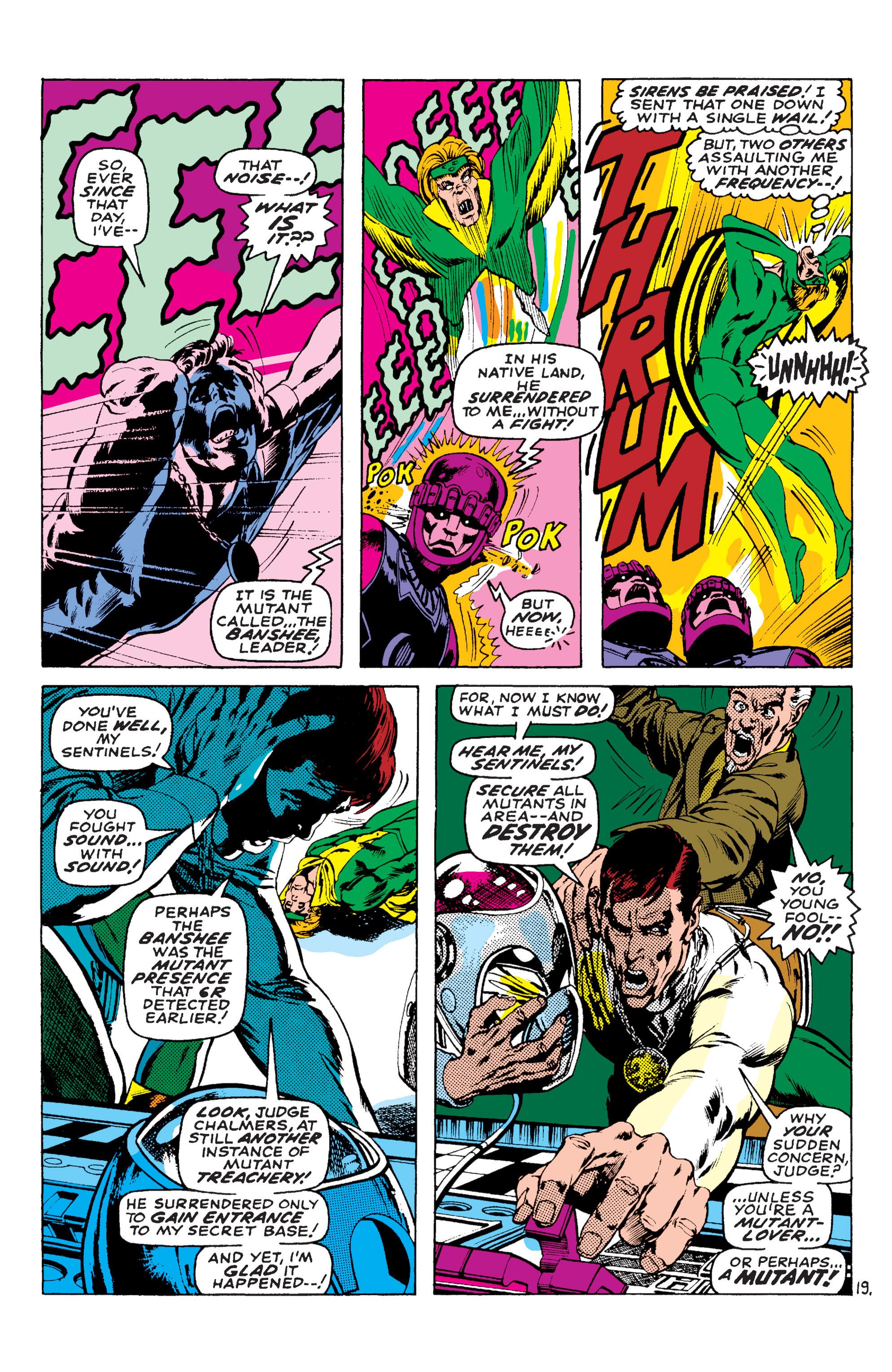Read online Uncanny X-Men (1963) comic -  Issue #58 - 19