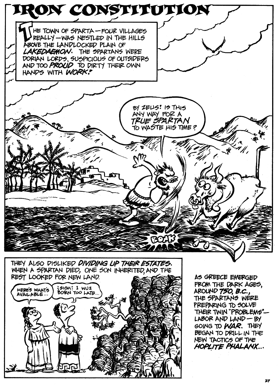 Read online The Cartoon History of the Universe comic -  Issue #5 - 29