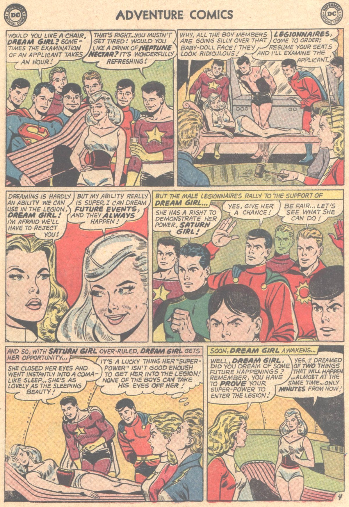 Read online Adventure Comics (1938) comic -  Issue #317 - 6
