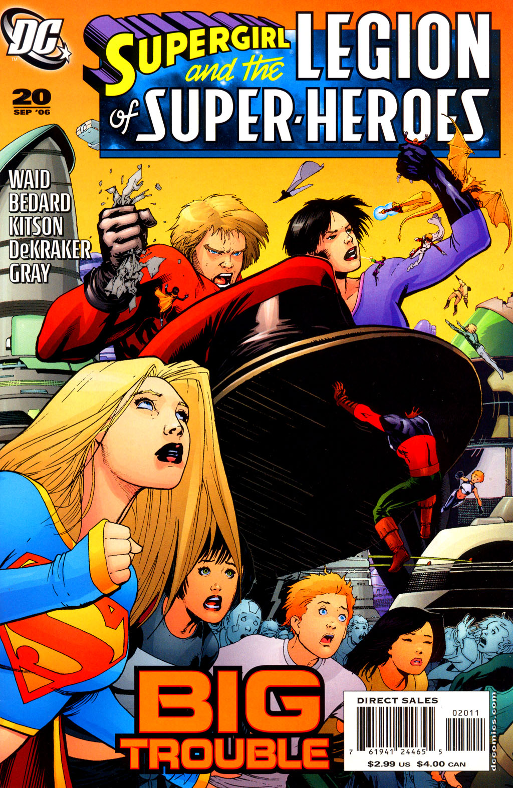 Supergirl and the Legion of Super-Heroes issue 20 - Page 1