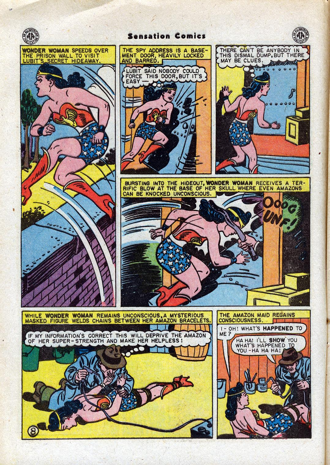 Read online Sensation (Mystery) Comics comic -  Issue #44 - 10