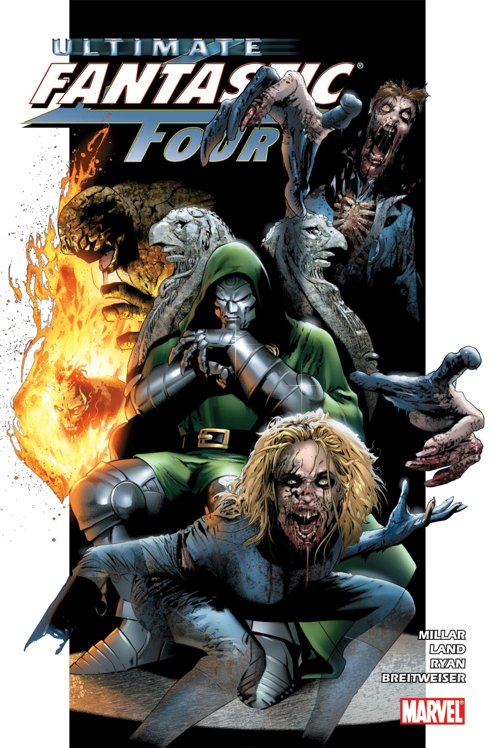 Read online Ultimate Fantastic Four (2004) comic -  Issue #30 - 1