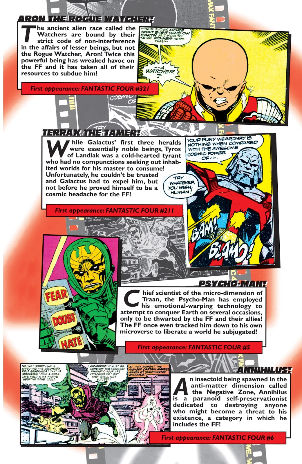 Read online Fantastic Four: The Legend comic -  Issue # Full - 21