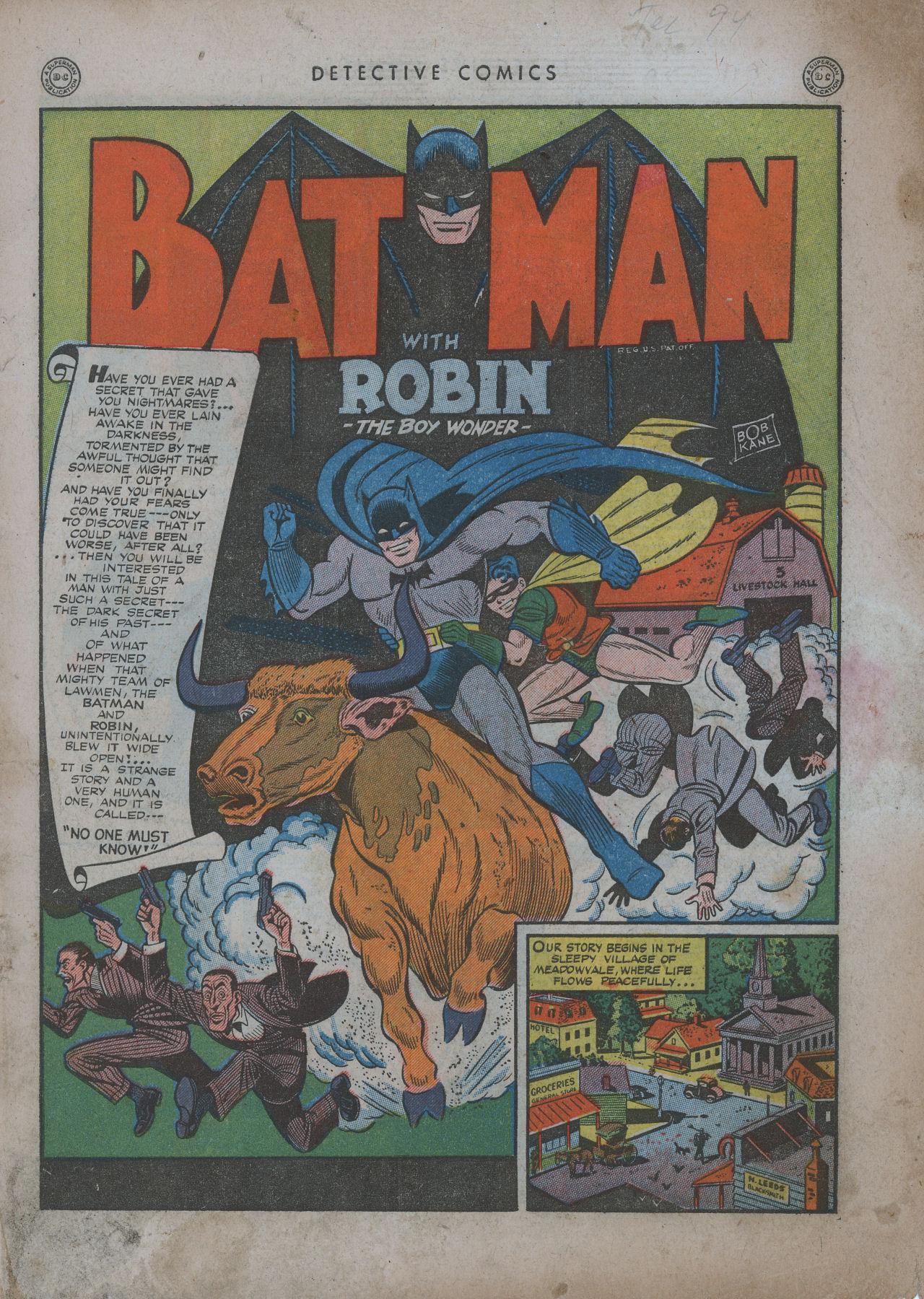 Read online Detective Comics (1937) comic -  Issue #94 - 3