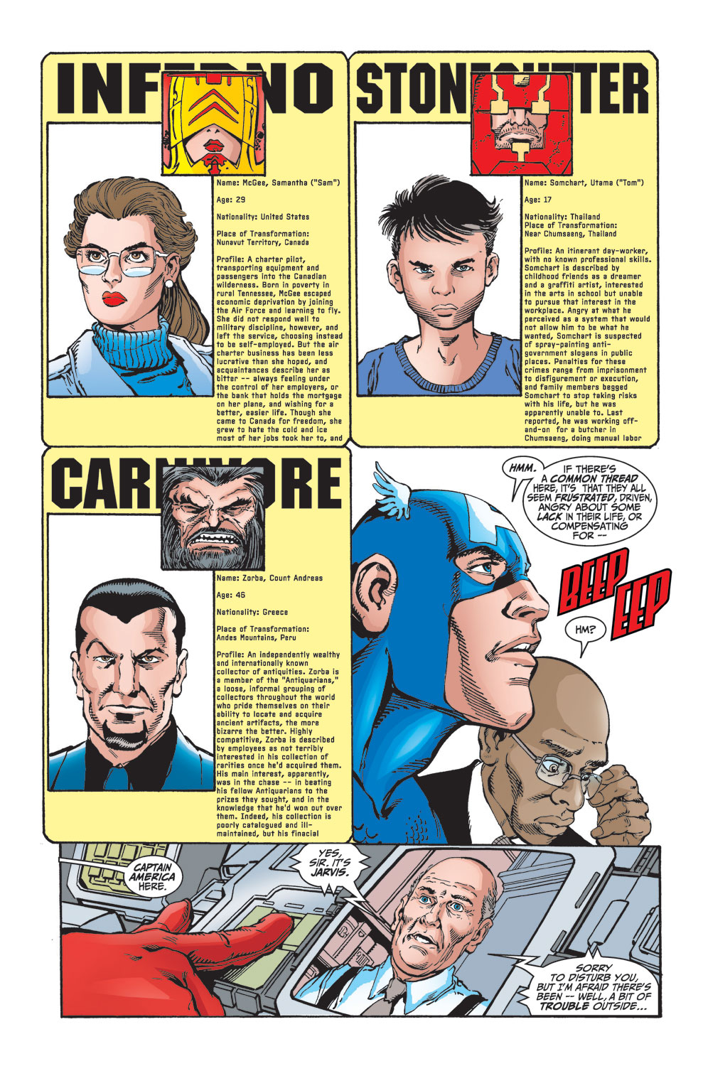 Read online Avengers (1998) comic -  Issue #25 - 11