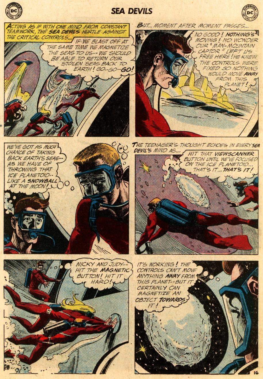 Read online Sea Devils comic -  Issue #5 - 23