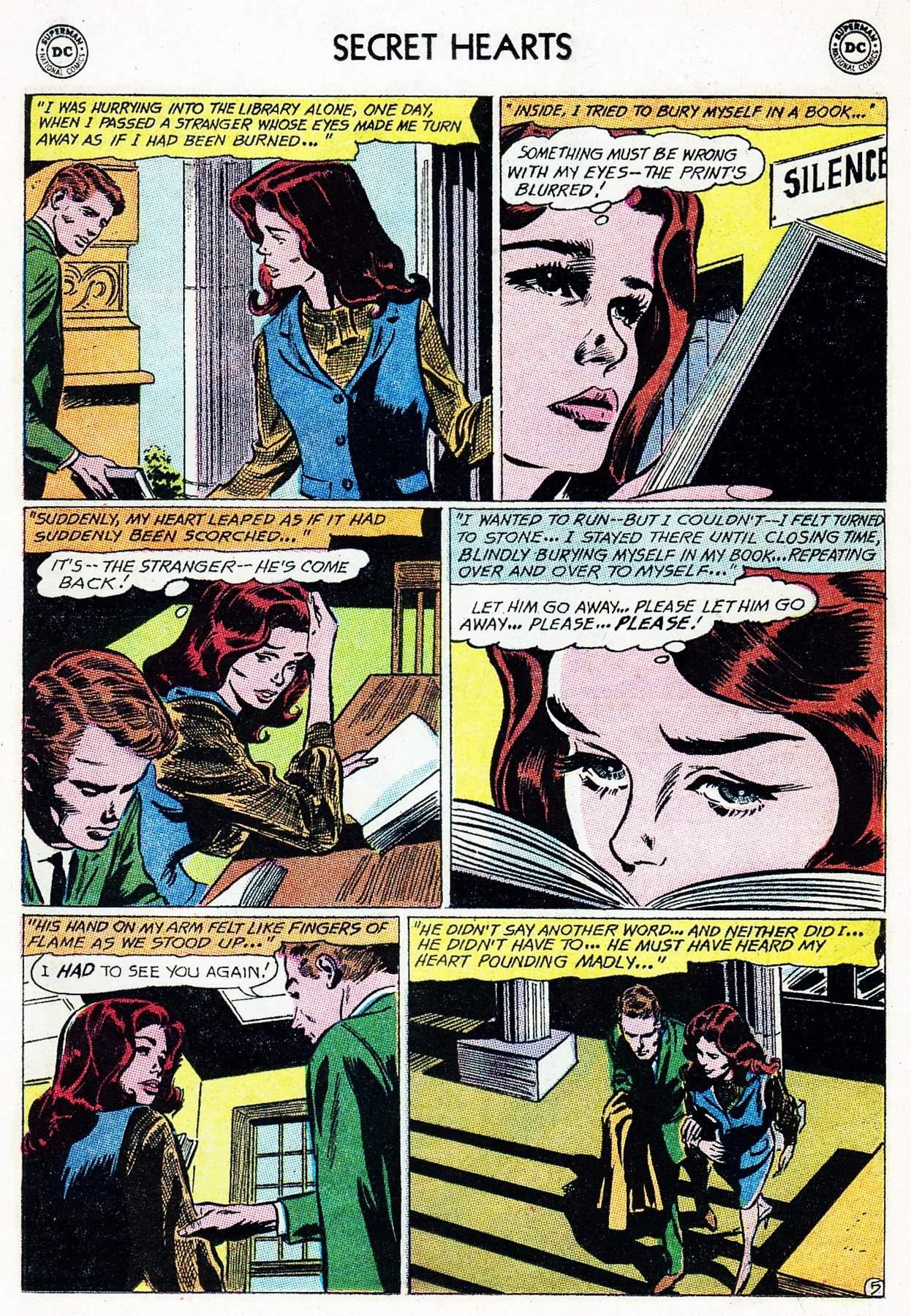 Read online Secret Hearts comic -  Issue #105 - 25