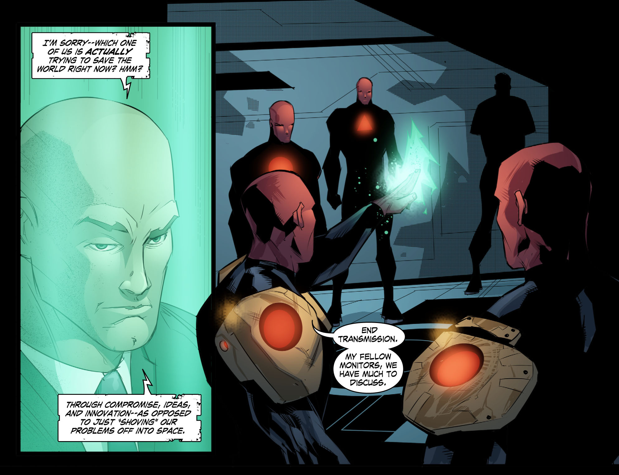 Read online Smallville: Chaos [II] comic -  Issue #10 - 19