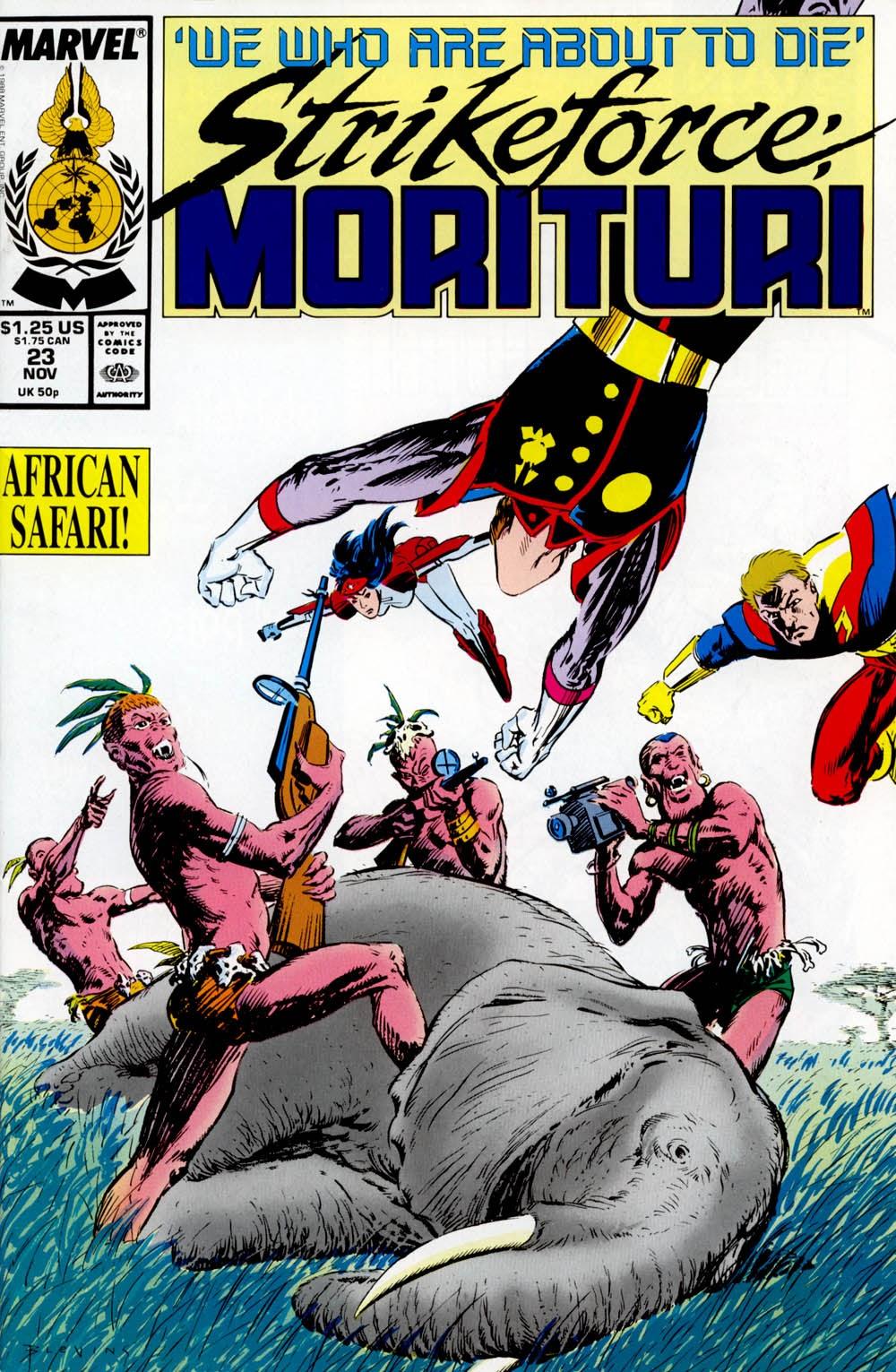 Strikeforce: Morituri 23 Page 1