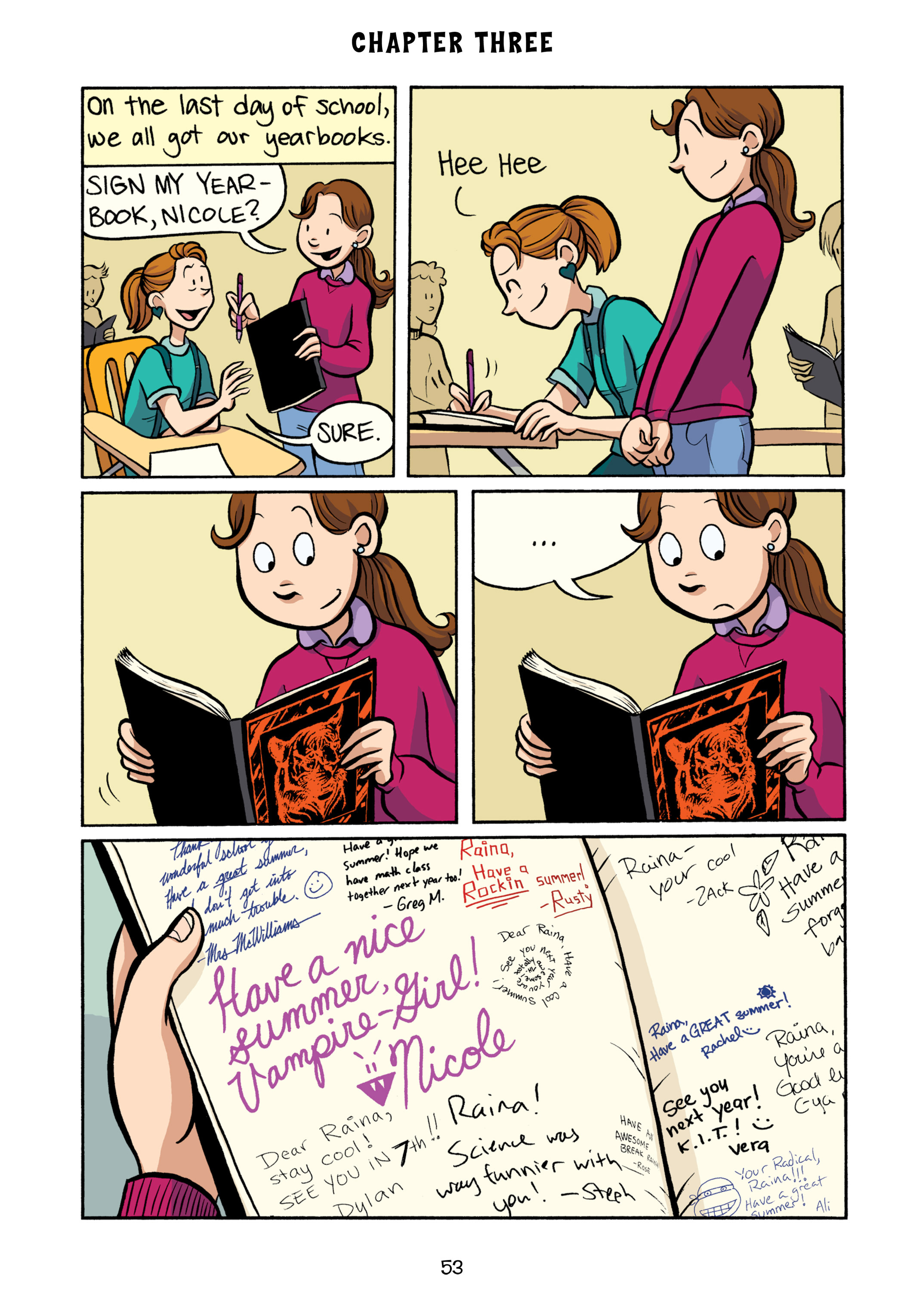 Read online Smile comic -  Issue # TPB - 59