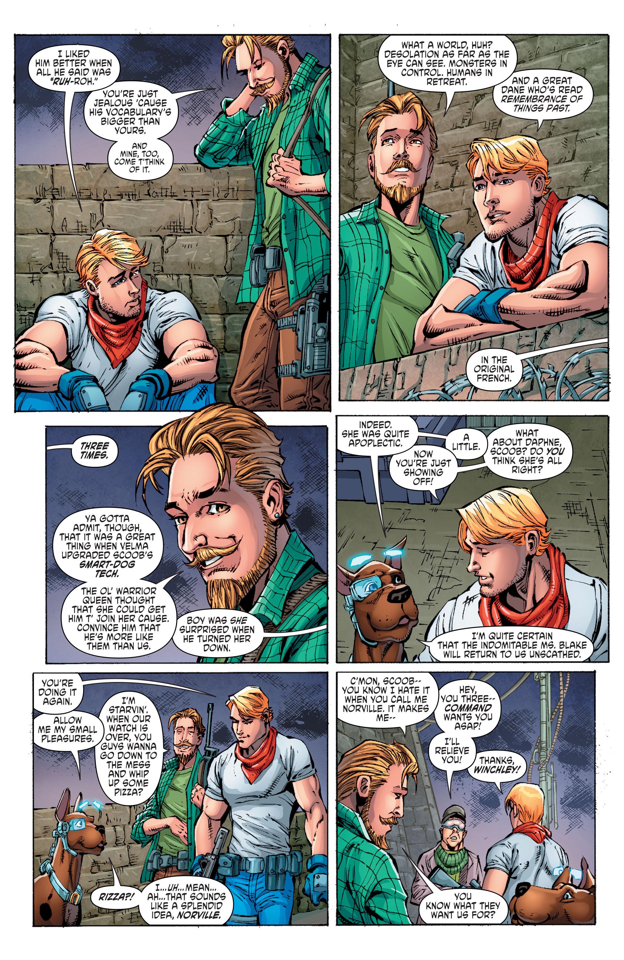 Read online Scooby Apocalypse comic -  Issue #10 - 9