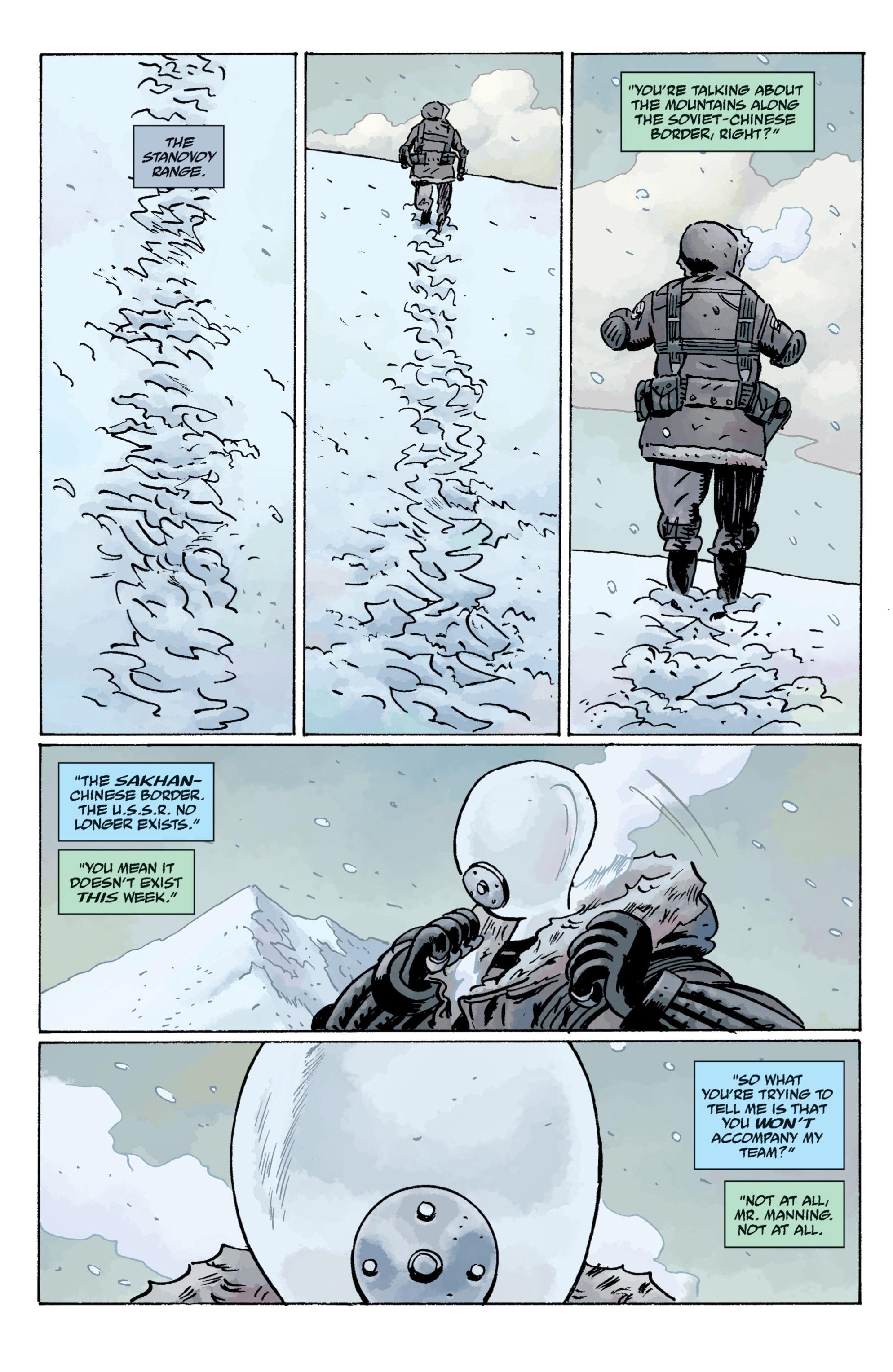 Read online B.P.R.D. (2003) comic -  Issue # TPB 11 - 34