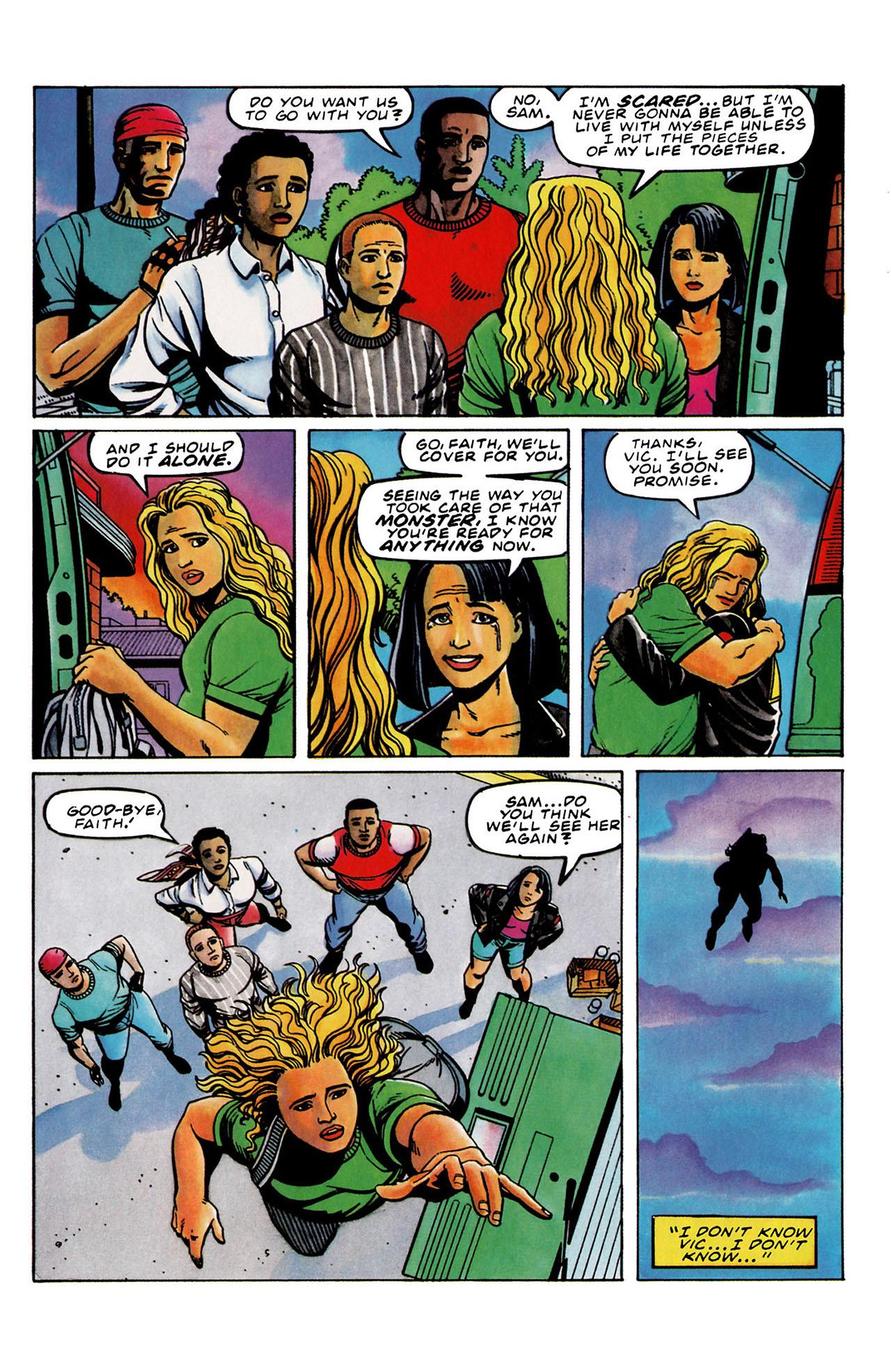 Read online Harbinger (1992) comic -  Issue #33 - 20