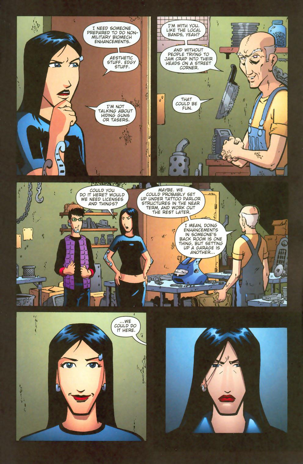 Read online Mek comic -  Issue #3 - 6