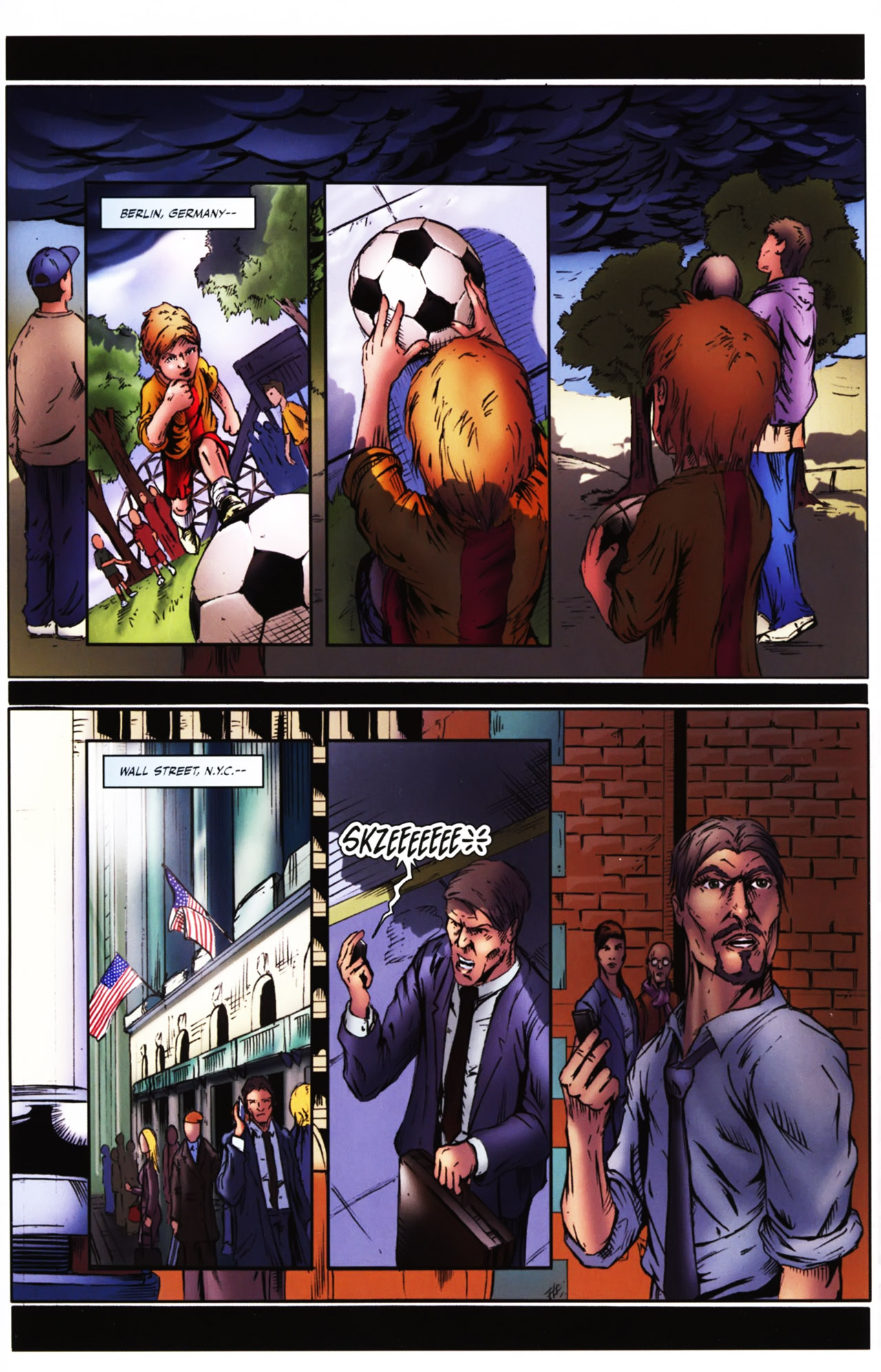 Read online Agon comic -  Issue #1 - 3