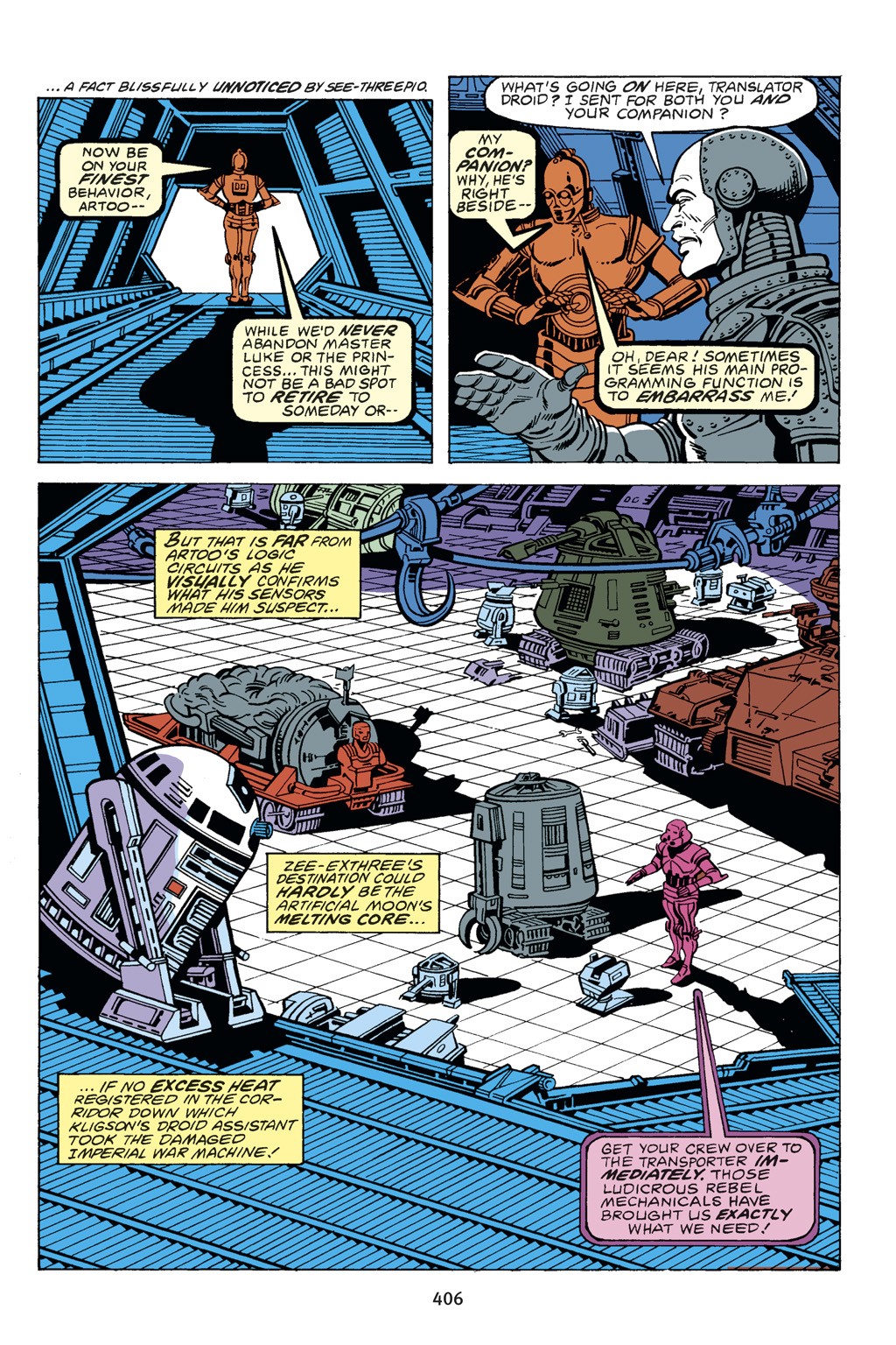 Read online Star Wars Omnibus comic -  Issue # Vol. 14 - 401