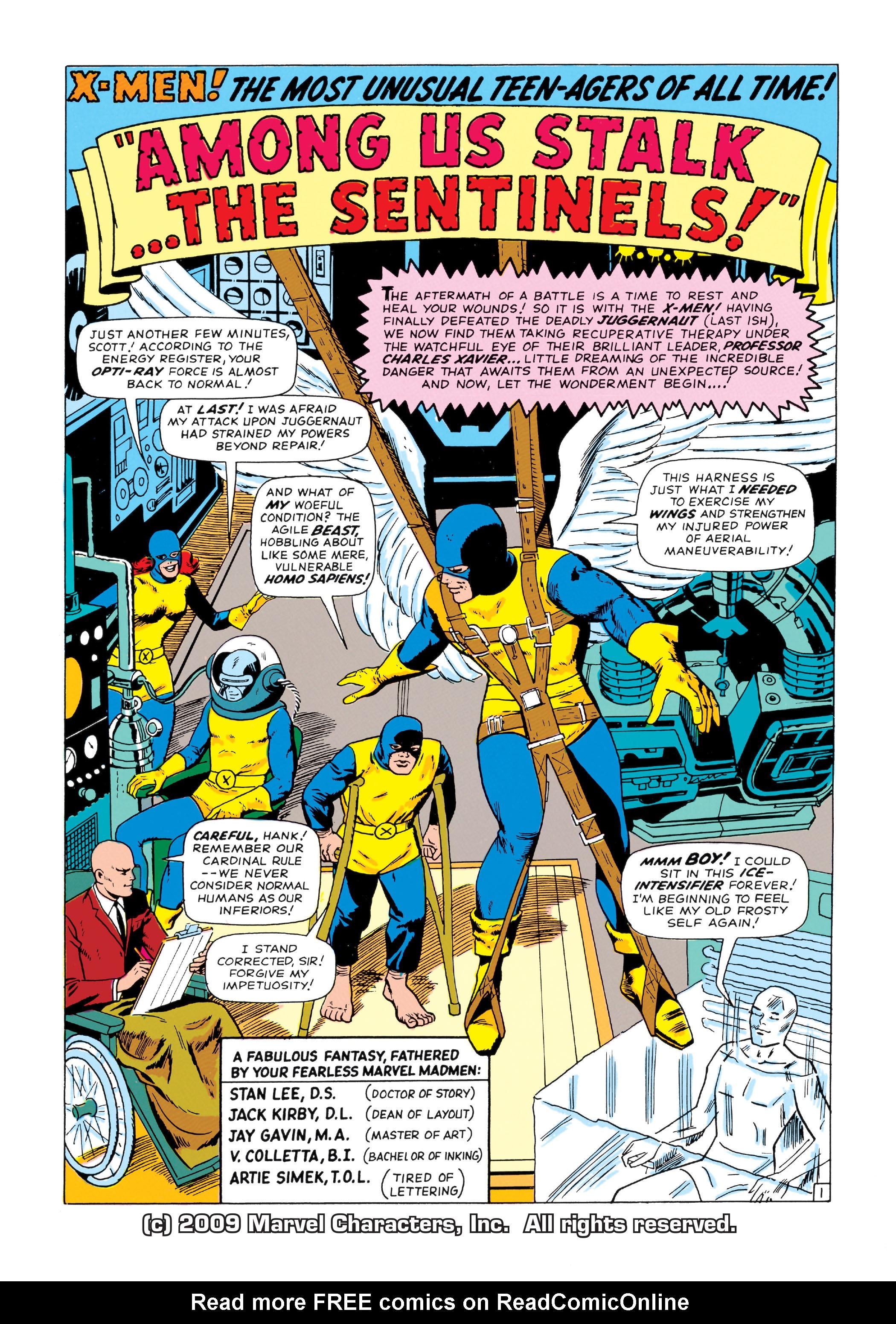 Read online Uncanny X-Men (1963) comic -  Issue #14 - 2